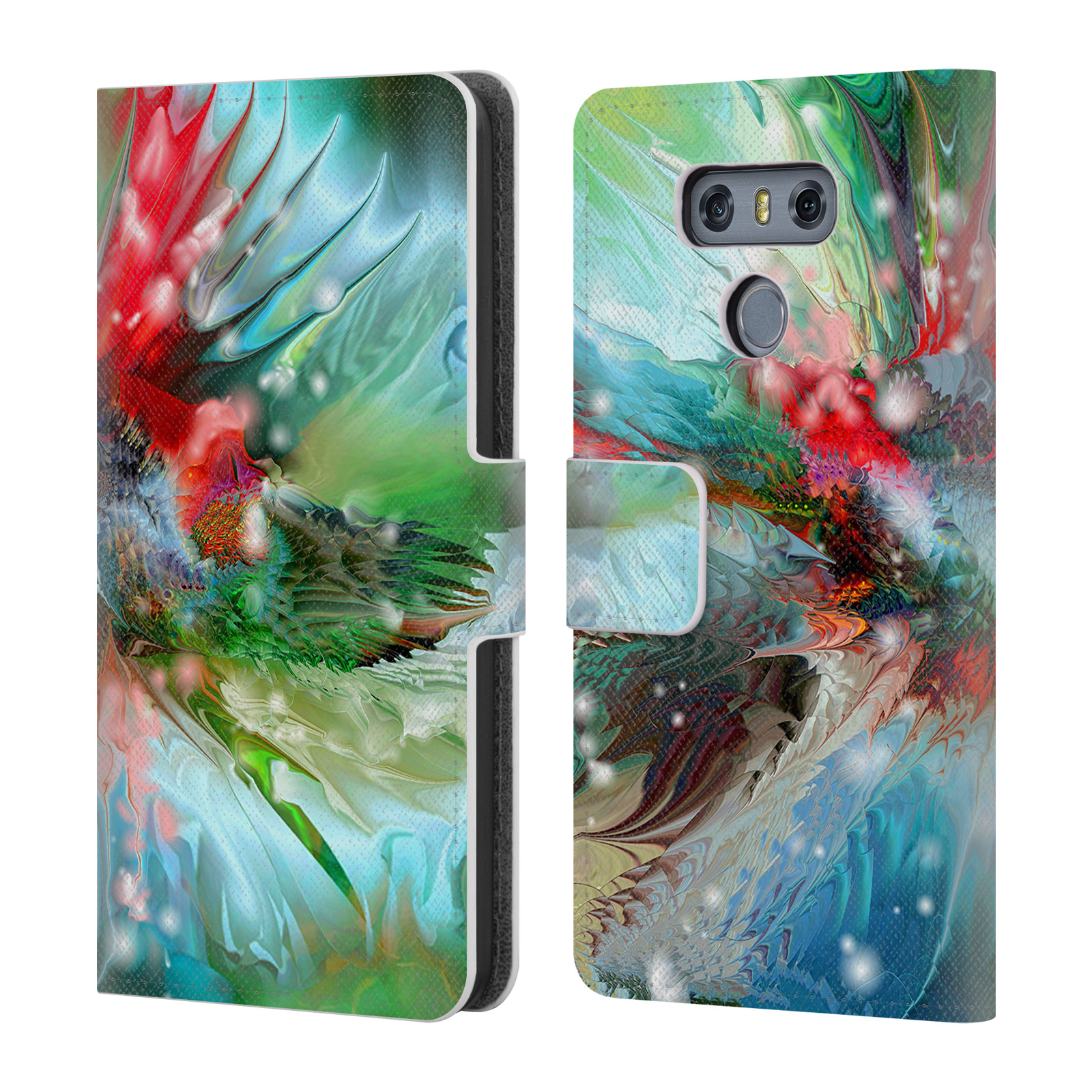 OFFICIAL-RUNA-SEA-CREATURES-LEATHER-BOOK-WALLET-CASE-COVER-FOR-LG-PHONES-1