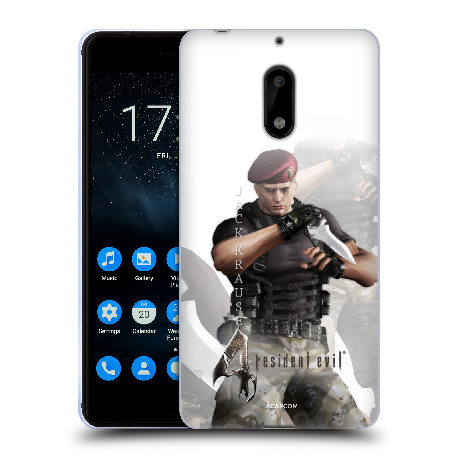 OFFICIAL-RESIDENT-EVIL-GAME-4-CHARACTERS-SOFT-GEL-CASE-FOR-NOKIA-PHONES-1
