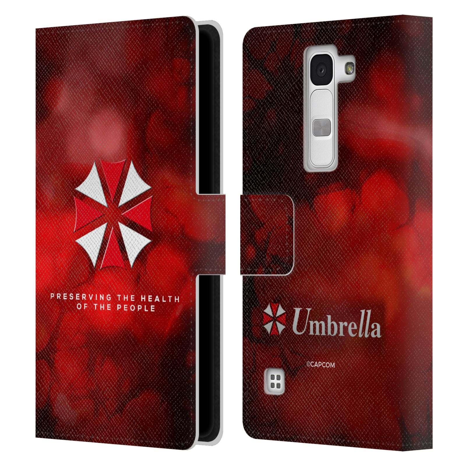 OFFICIAL-RESIDENT-EVIL-LOGO-LEATHER-BOOK-WALLET-CASE-COVER-FOR-LG-PHONES-2