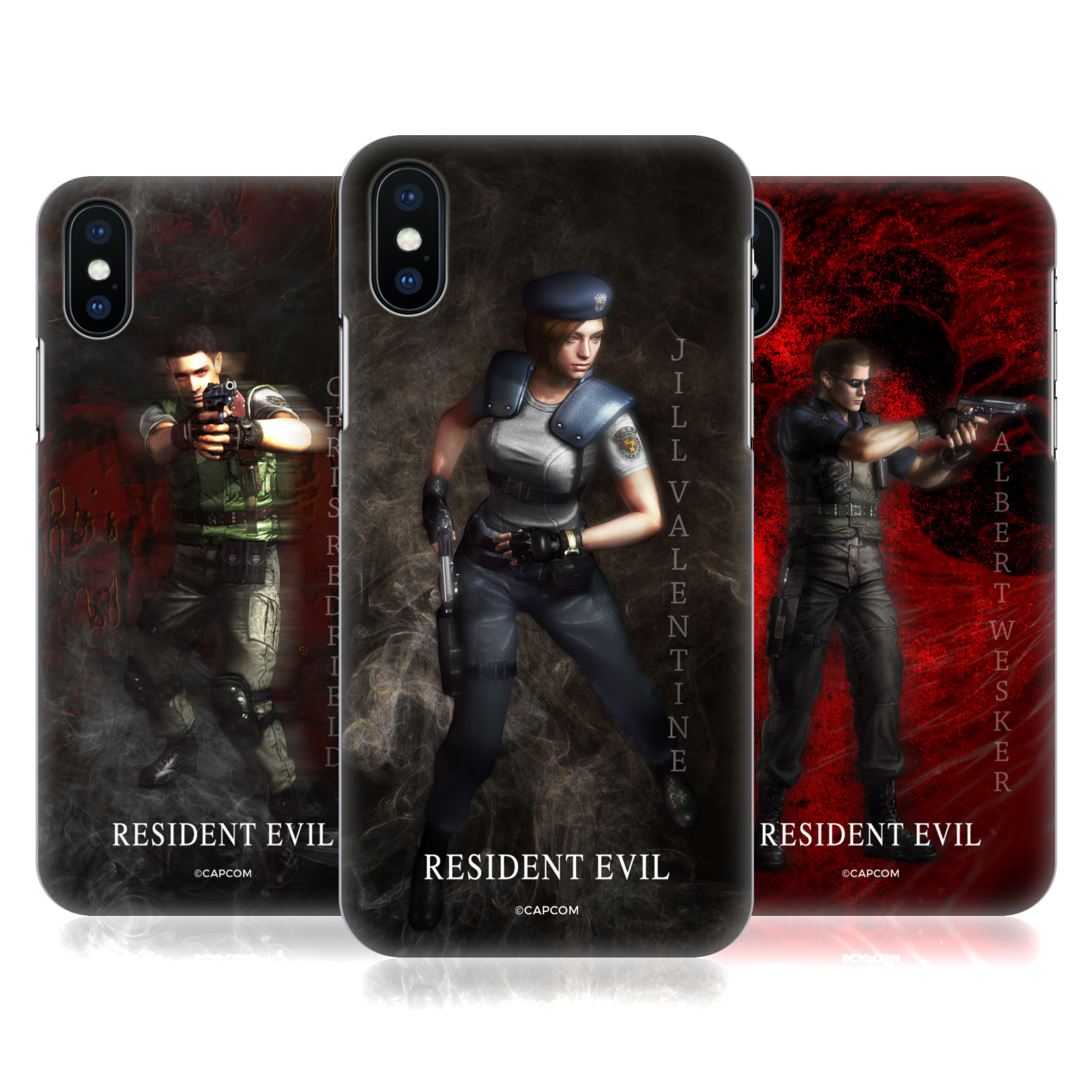Resident Evil Remake Characters