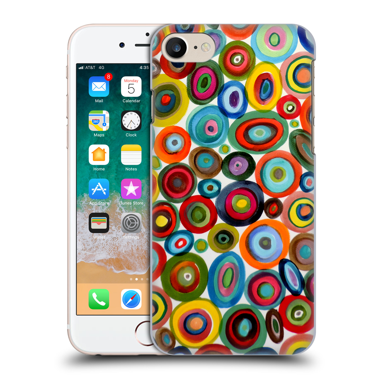 Official Sylvie Demers Abstraction Club Soda Case for Apple iPhone 7 / 8 / iPhone SE 2020