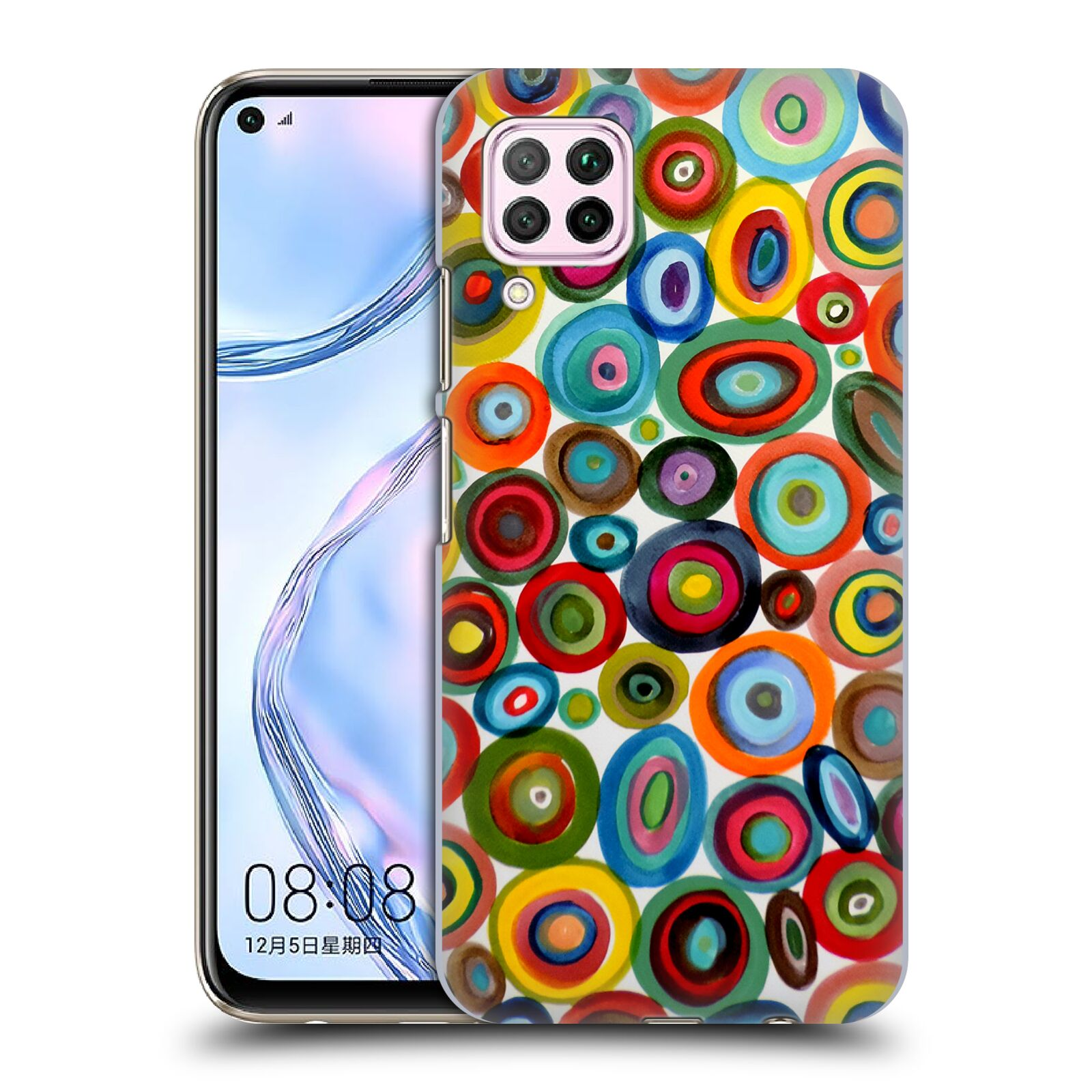 Official Sylvie Demers Abstraction Club Soda Case for Huawei Nova 6 SE