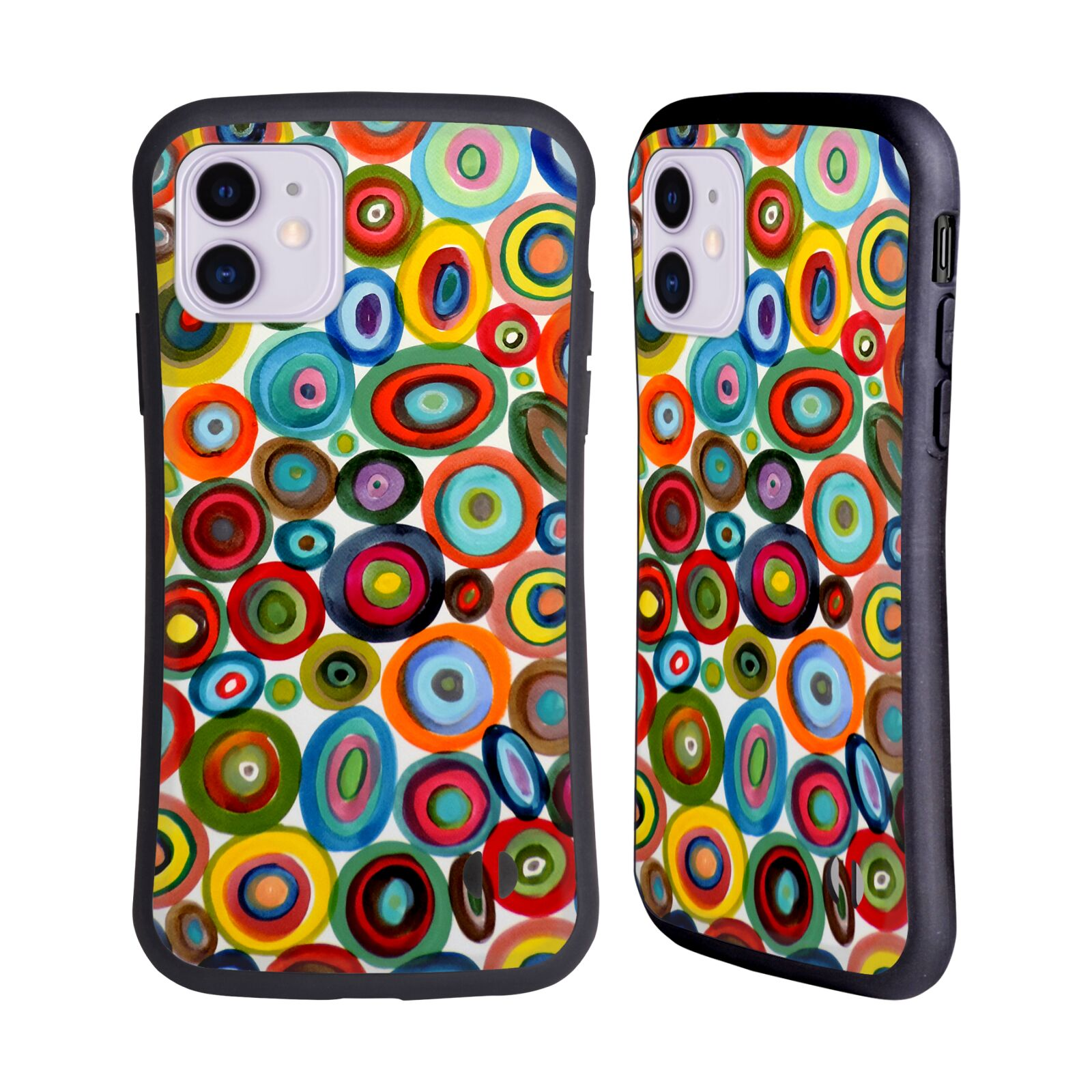 Official Sylvie Demers Abstraction Club Soda Hybrid Case for Apple iPhone 11