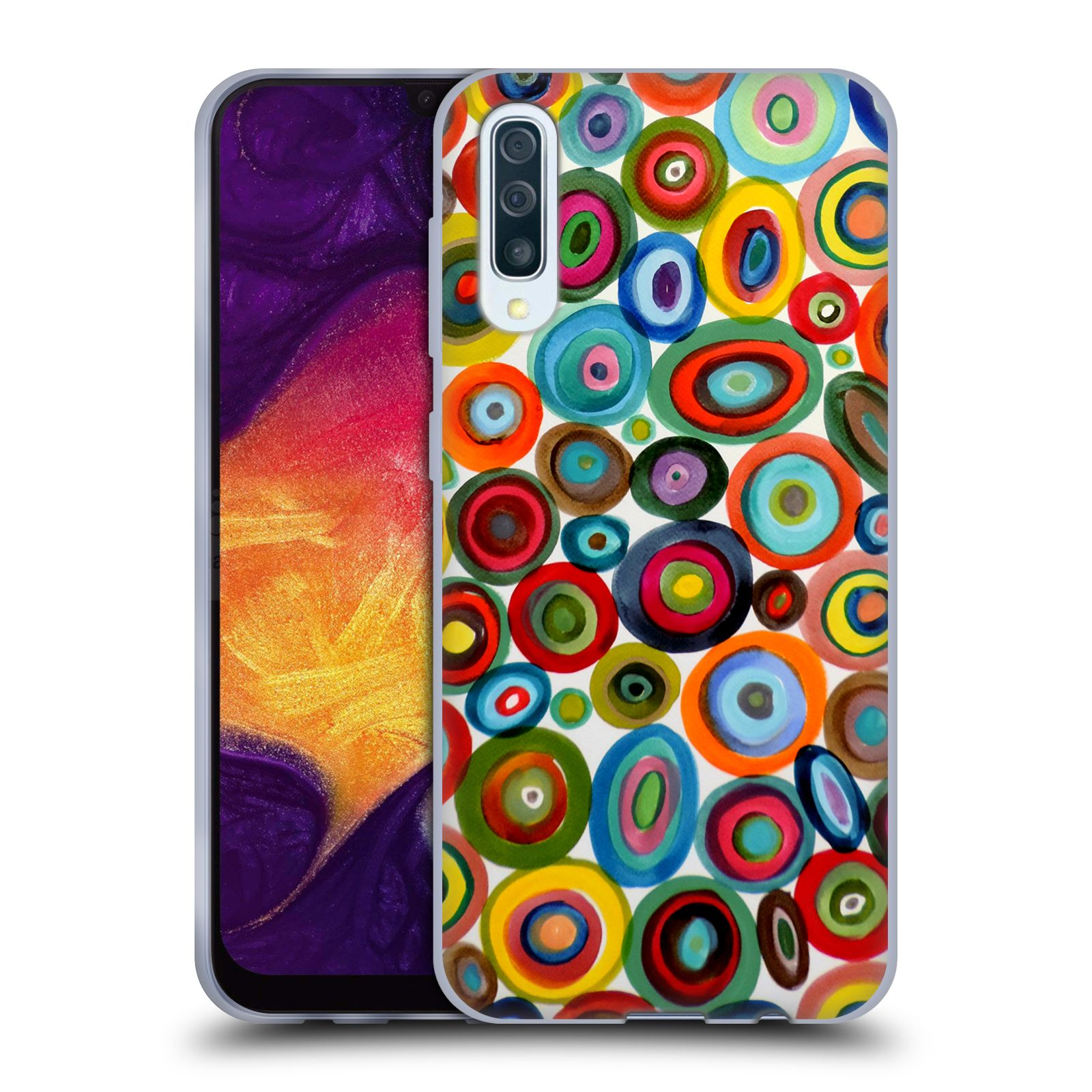 Official Sylvie Demers Abstraction Club Soda Gel Case for Samsung Galaxy A50/A30s (2019)