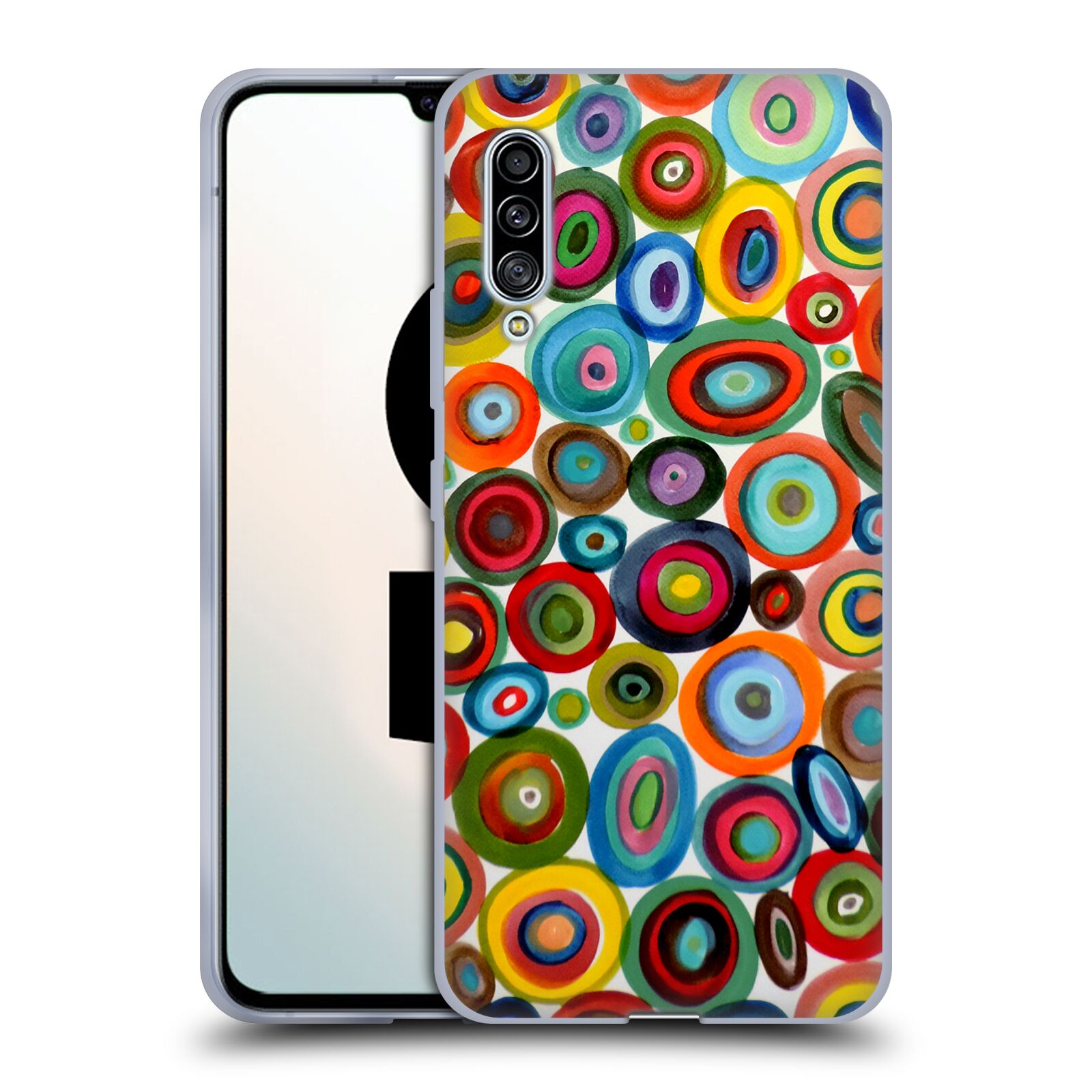 Official Sylvie Demers Abstraction Club Soda Gel Case for Samsung Galaxy A90 5G (2019)