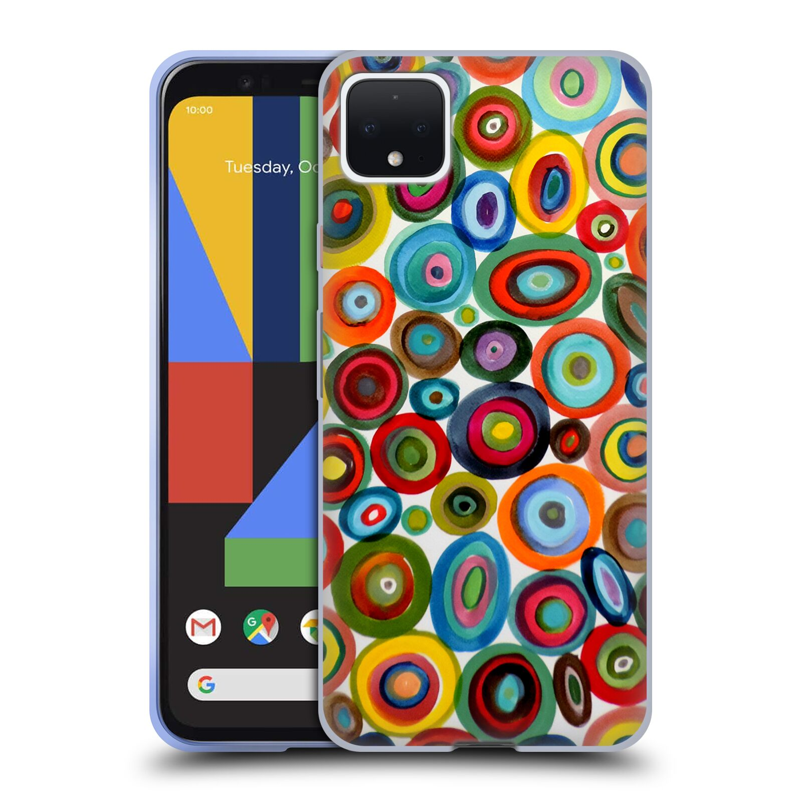 Official Sylvie Demers Abstraction Club Soda Gel Case for Google Pixel 4 XL