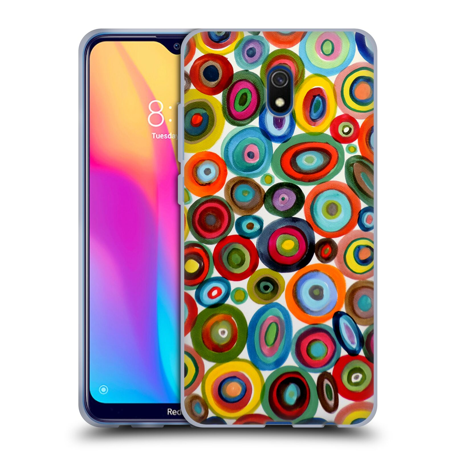 Official Sylvie Demers Abstraction Club Soda Gel Case for Xiaomi Redmi 8A