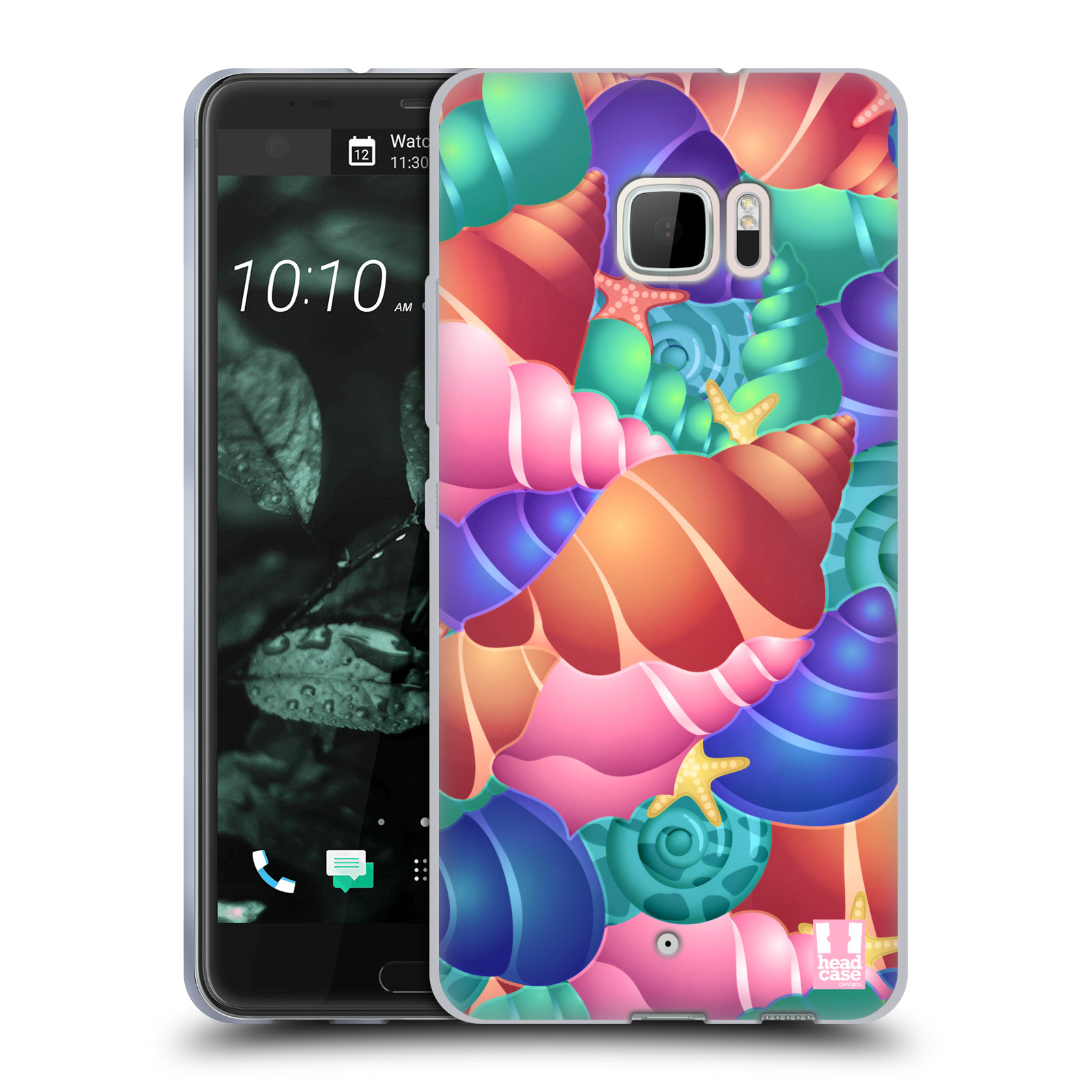 HEAD-CASE-DESIGNS-CONCHIGLIE-COVER-MORBIDA-IN-GEL-PER-HTC-U-ULTRA