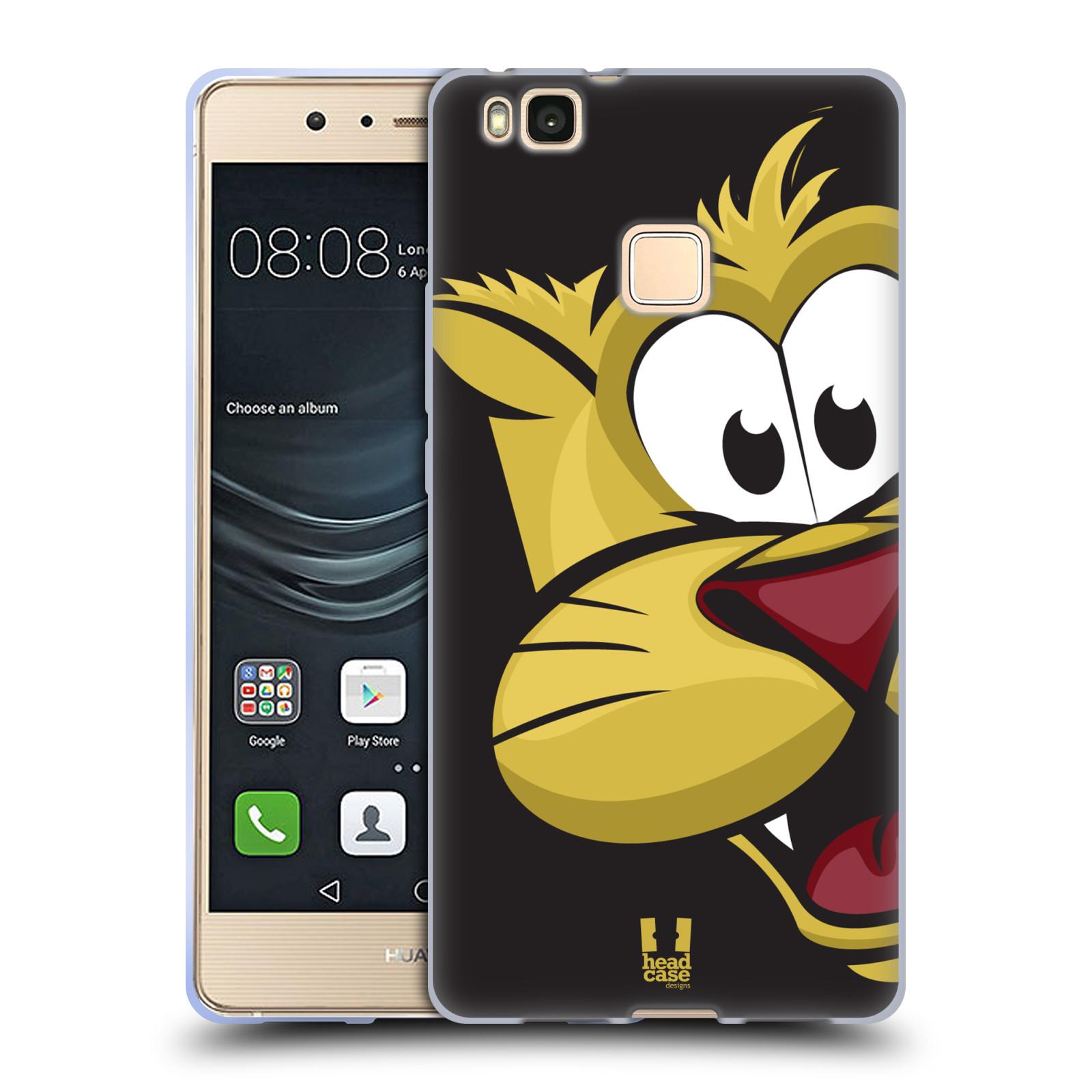 Silikonové pouzdro na mobil Huawei P9 Lite - Head Case - ROZTOMILÝ TYGŘÍK