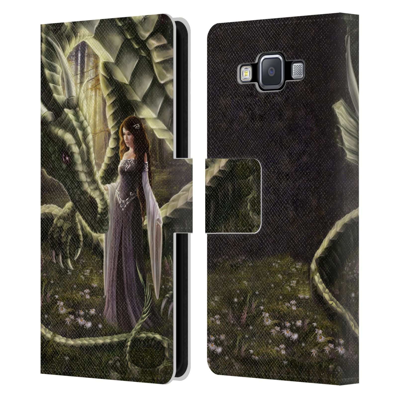 OFFICIAL-SELINA-FENECH-DRAGONS-2-LEATHER-BOOK-WALLET-CASE-FOR-SAMSUNG-PHONES-2