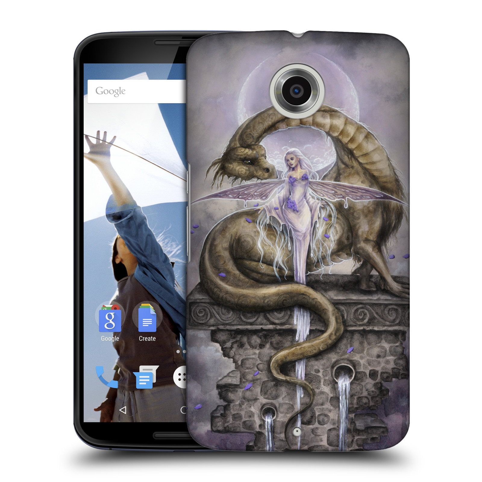 OFFICIAL-SELINA-FENECH-DRAGONS-2-HARD-BACK-CASE-FOR-MOTOROLA-PHONES-2