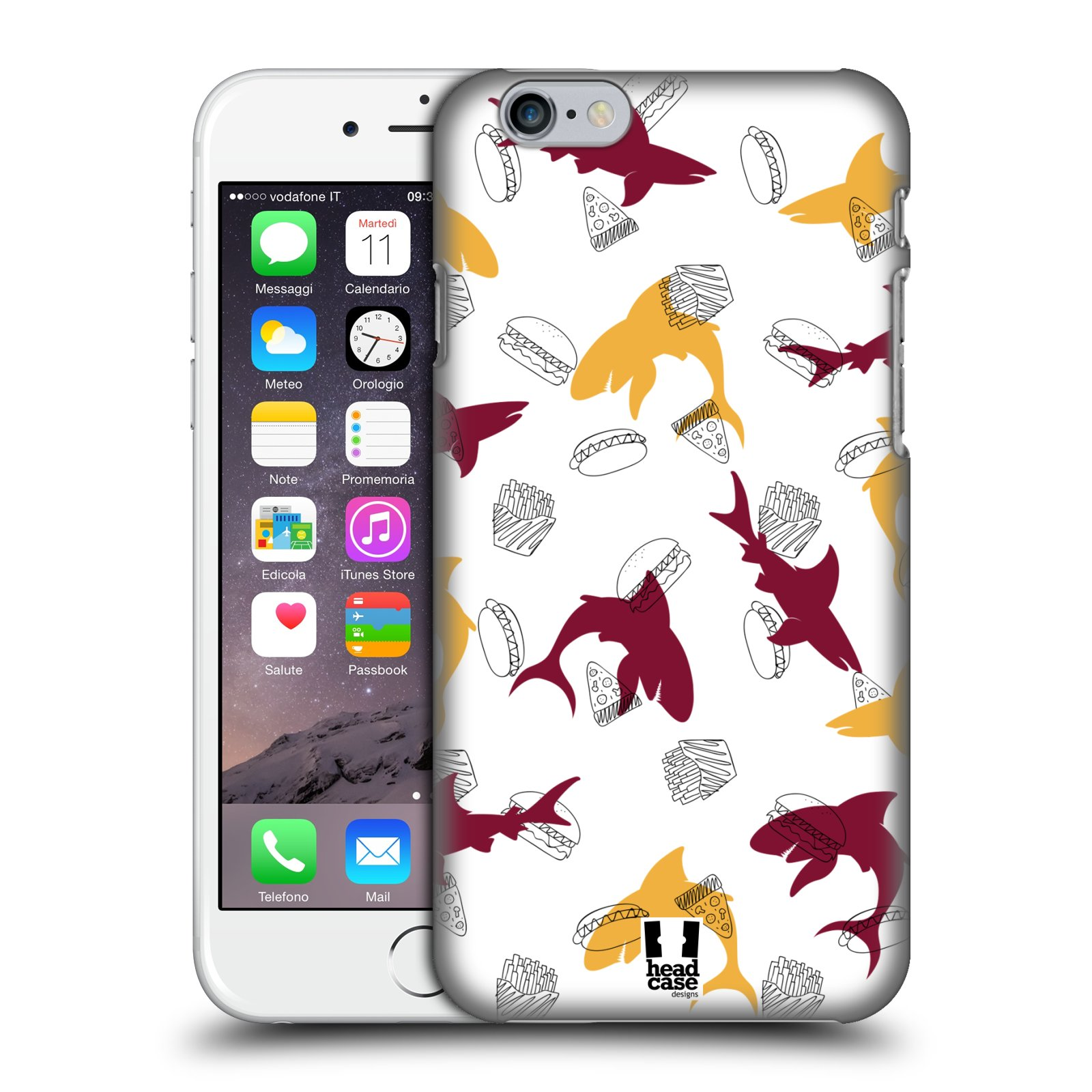 iphone case that prints pictures designs shark prints back for apple 6270
