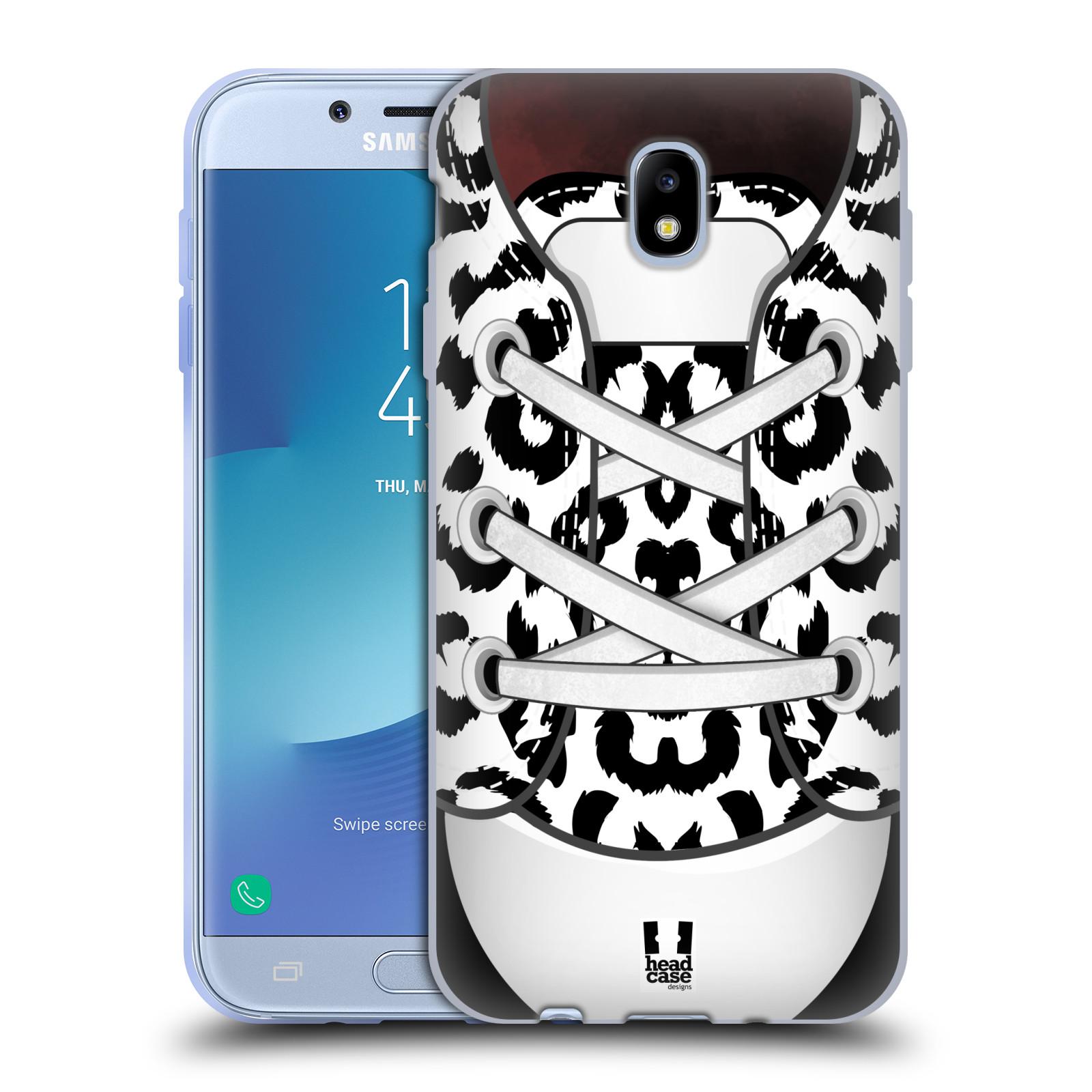Funda HEAD CASE DESIGNS de la colección de arte del Zapato Gel caso para Samsung Galaxy J7 2017/Pro