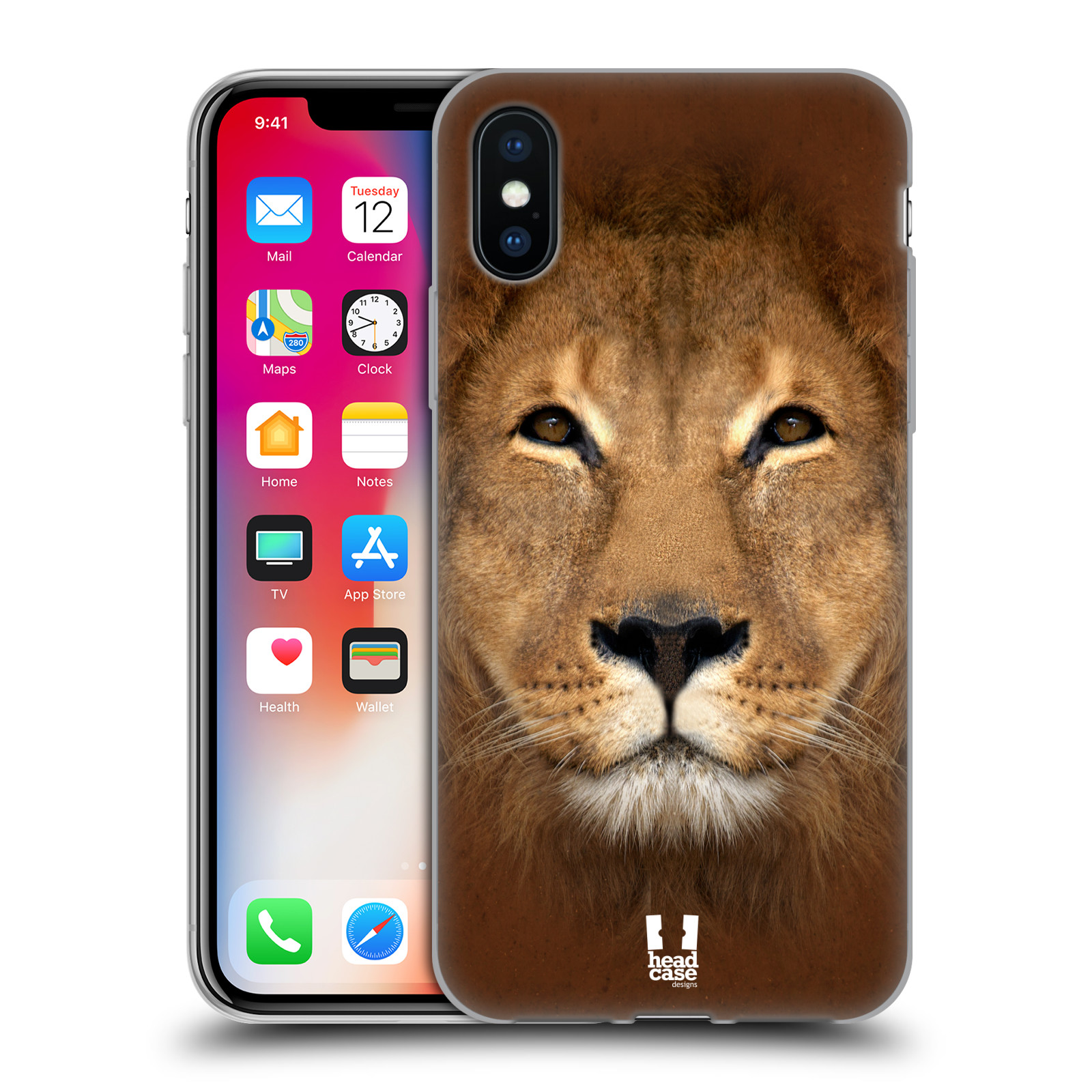 HEAD-CASE-DESIGNS-ANIMAL-FACES-2-SOFT-GEL-CASE-FOR-APPLE-iPHONE-PHONES