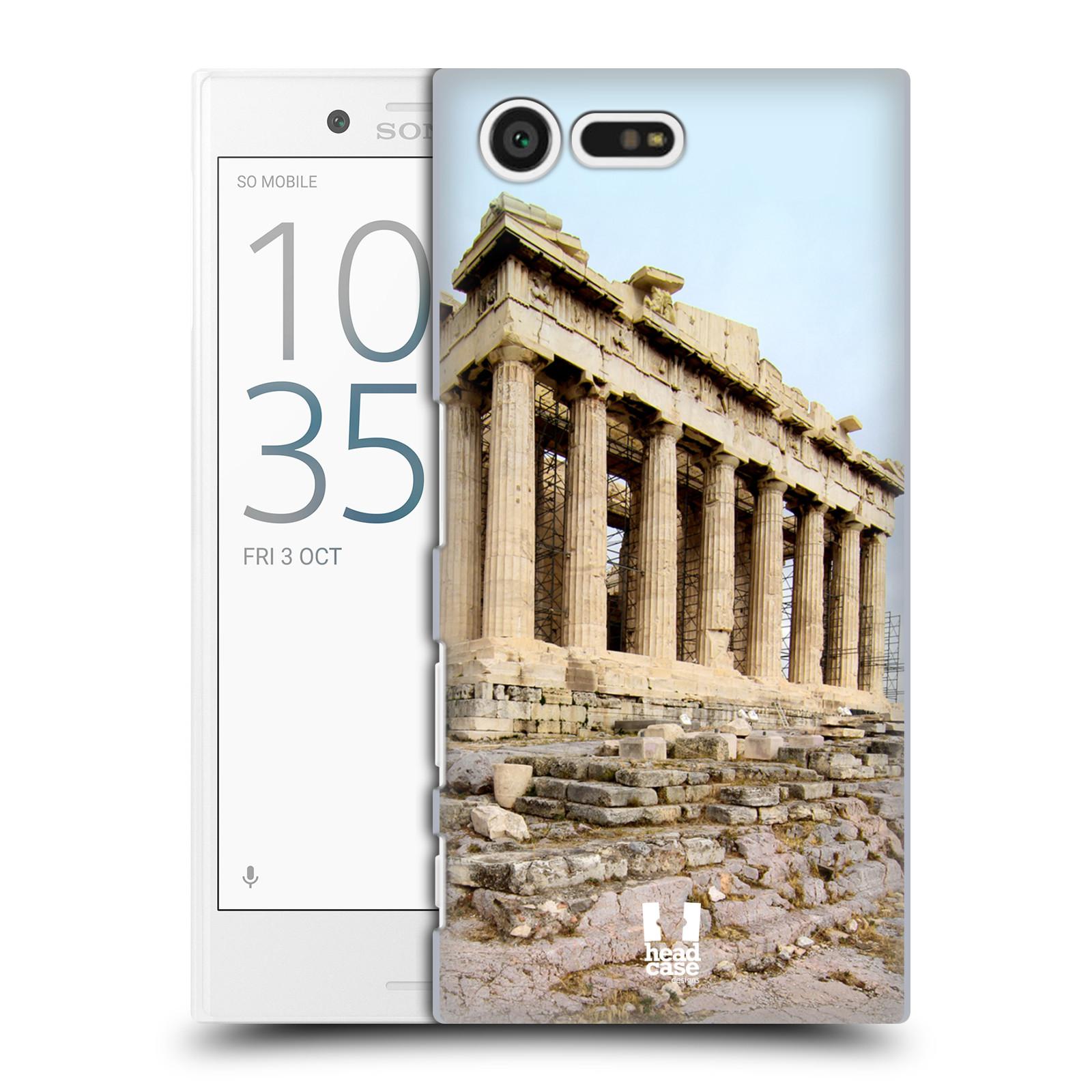Case Designs famosos monumentos duro HEAD volver estuche para SONY XPERIA Compacto X