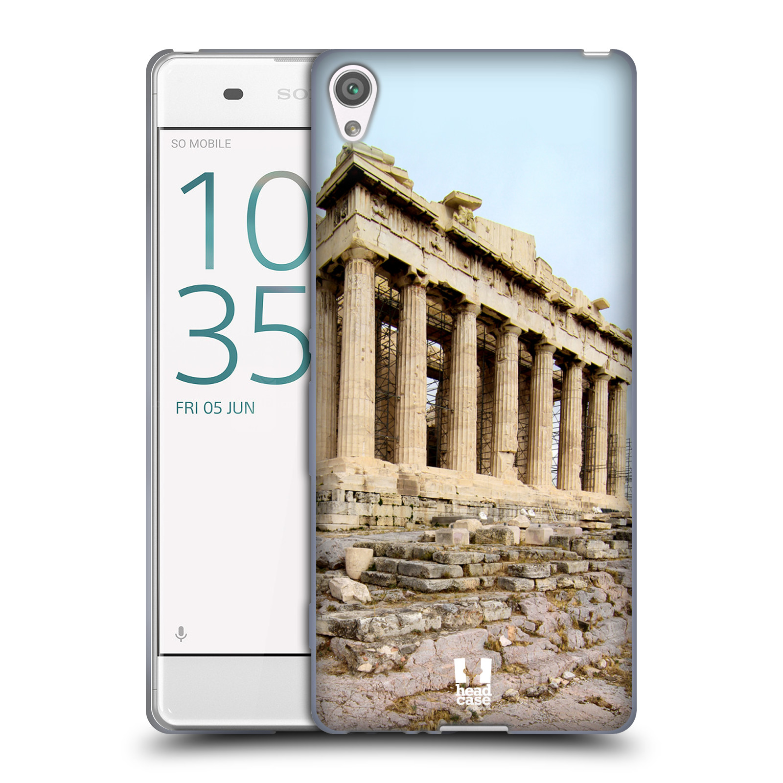 Case Designs famosos monumentos Suave HEAD Gel caso para SONY XPERIA XA