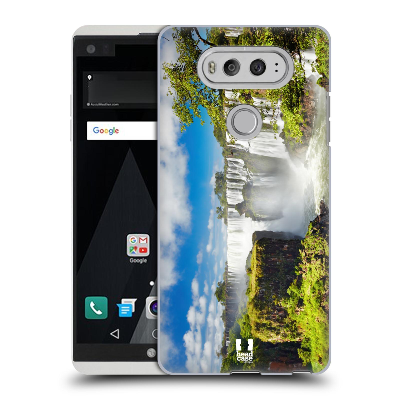 Case Designs famosos monumentos duro HEAD volver estuche para LG V20