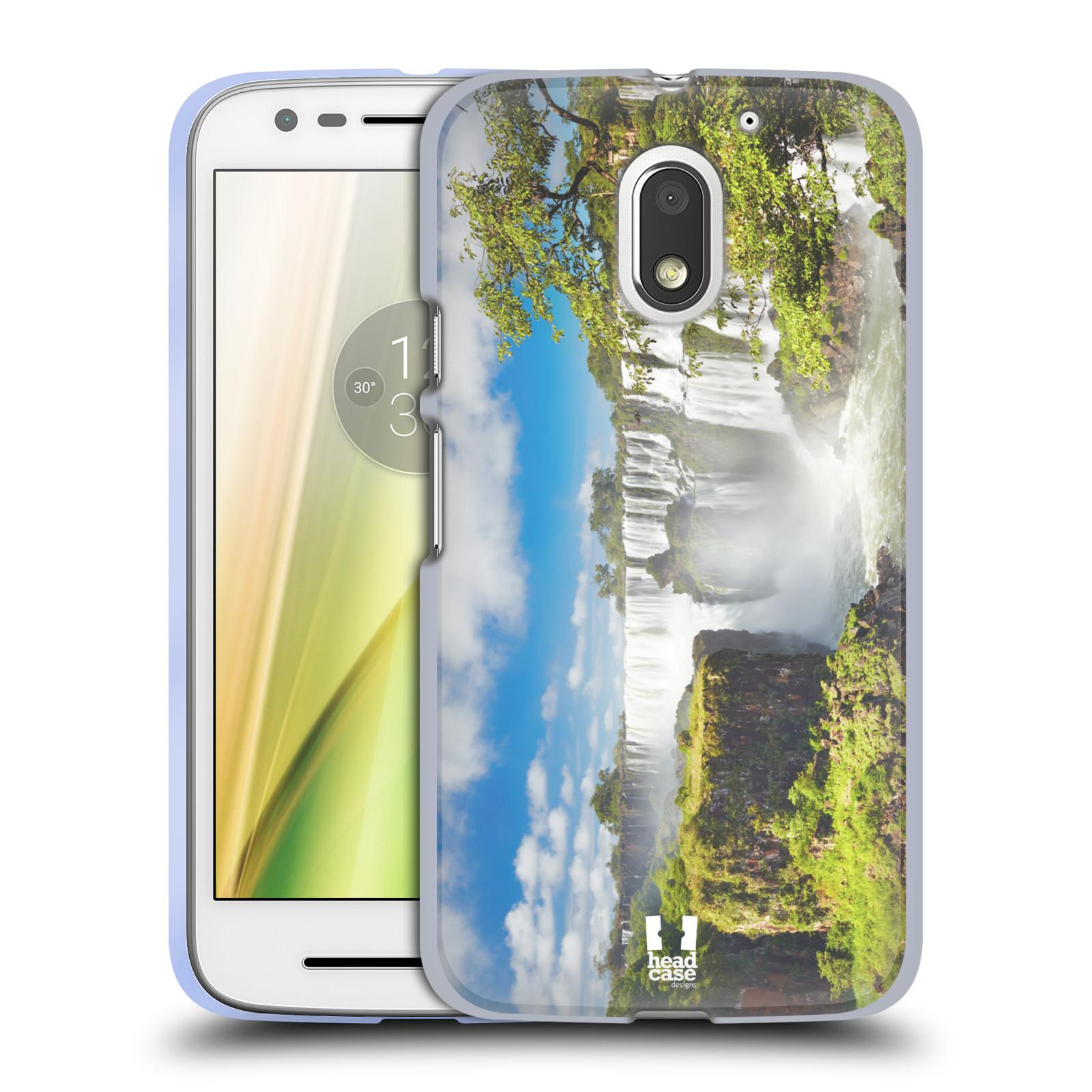 Funda HEAD CASE DESIGNS CON hitos famosos Gel Suave para Motorola Moto E3 Power