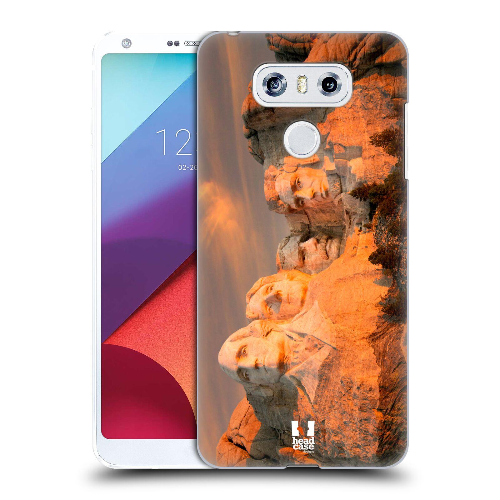 Funda HEAD CASE DESIGNS famosos monumentos Dorso duro caso para LG G6