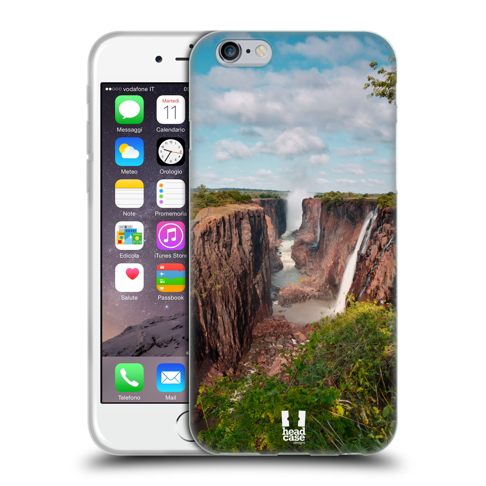 Funda HEAD CASE DESIGNS CON hitos famosos Gel Suave para teléfonos Apple iPhone