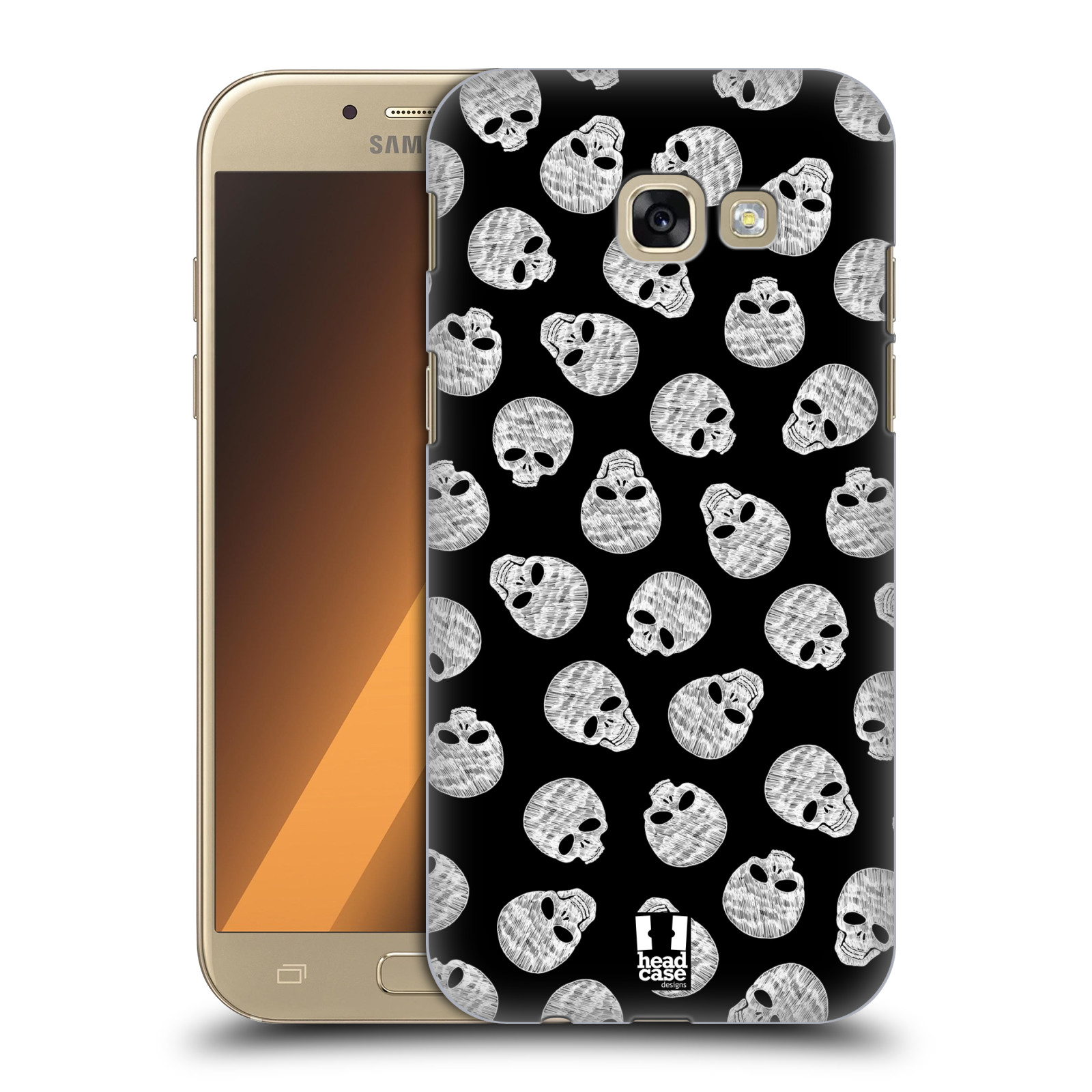 HEAD-CASE-DESIGNS-SKULLS-PATTERNS-HARD-BACK-CASE-FOR-SAMSUNG-GALAXY-A5-2017