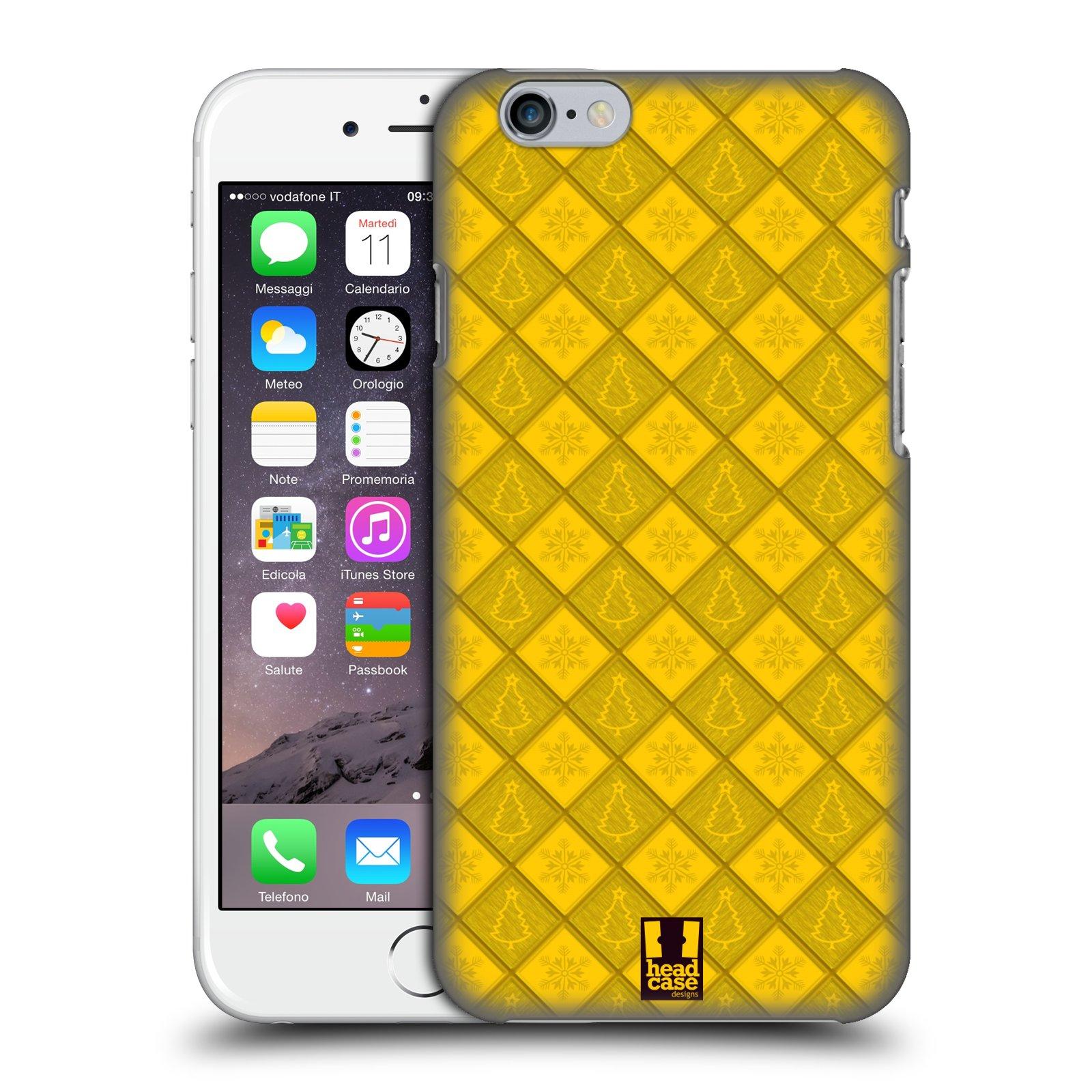 HEAD-CASE-DESIGNS-NATALE-CON-I-FIOCCHI-COVER-RETRO-PER-APPLE-iPHONE-TELEFONI