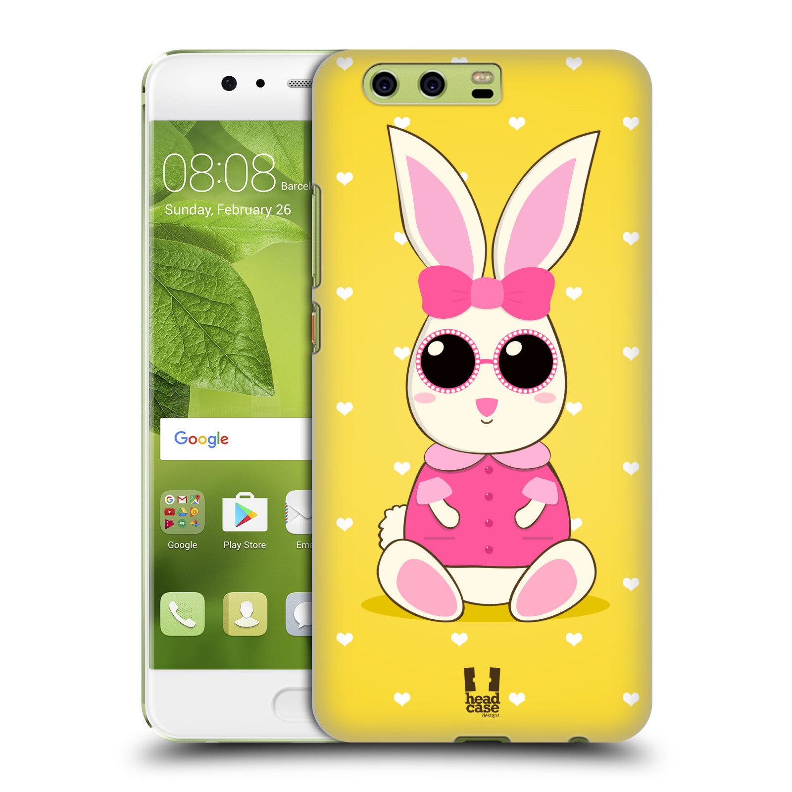 HEAD-CASE-DESIGNS-SOFIE-THE-BUNNY-HARD-BACK-CASE-FOR-HUAWEI-P10-PLUS