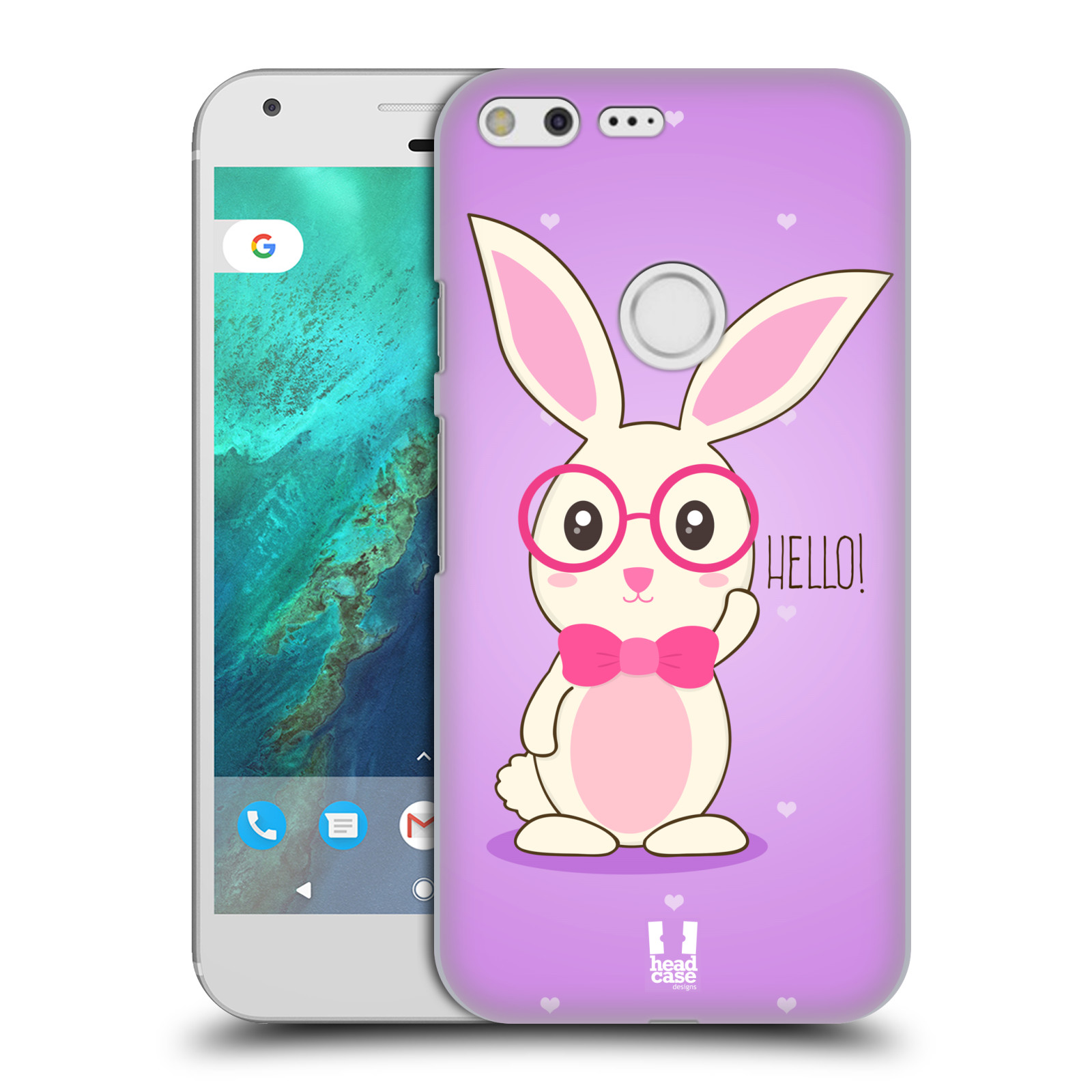HEAD-CASE-DESIGNS-SOFIE-THE-BUNNY-HARD-BACK-CASE-FOR-GOOGLE-PIXEL-XL