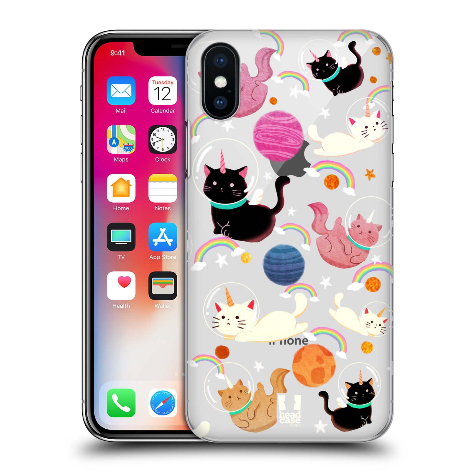Funda-HEAD-CASE-DESIGNS-DE-espacio-Unicornios-funda-rigida-posterior-para-telefonos-Apple-iPhone