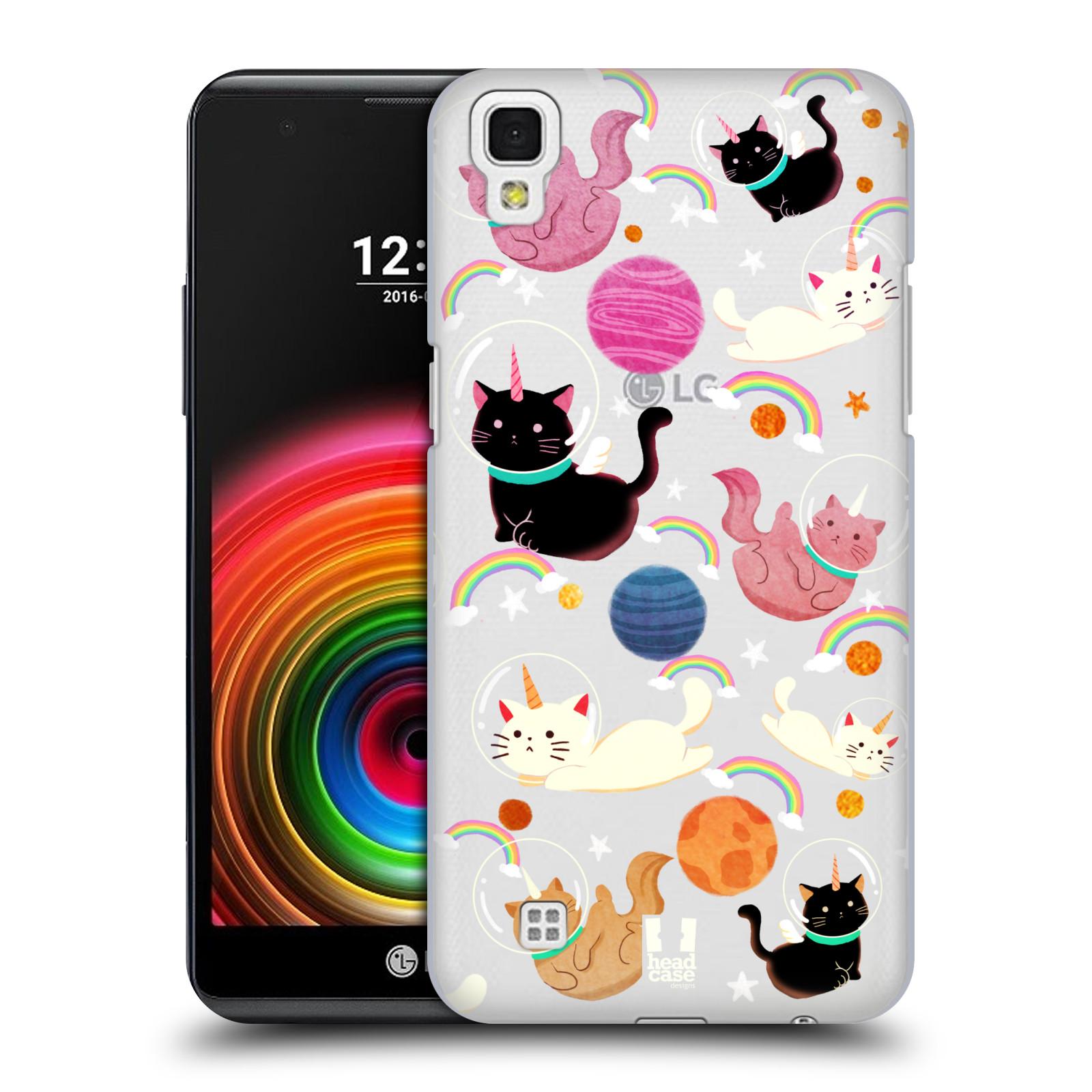 Case-Designs-espacio-Unicornios-duro-HEAD-Funda-Trasera-Para-Telefonos-LG-2