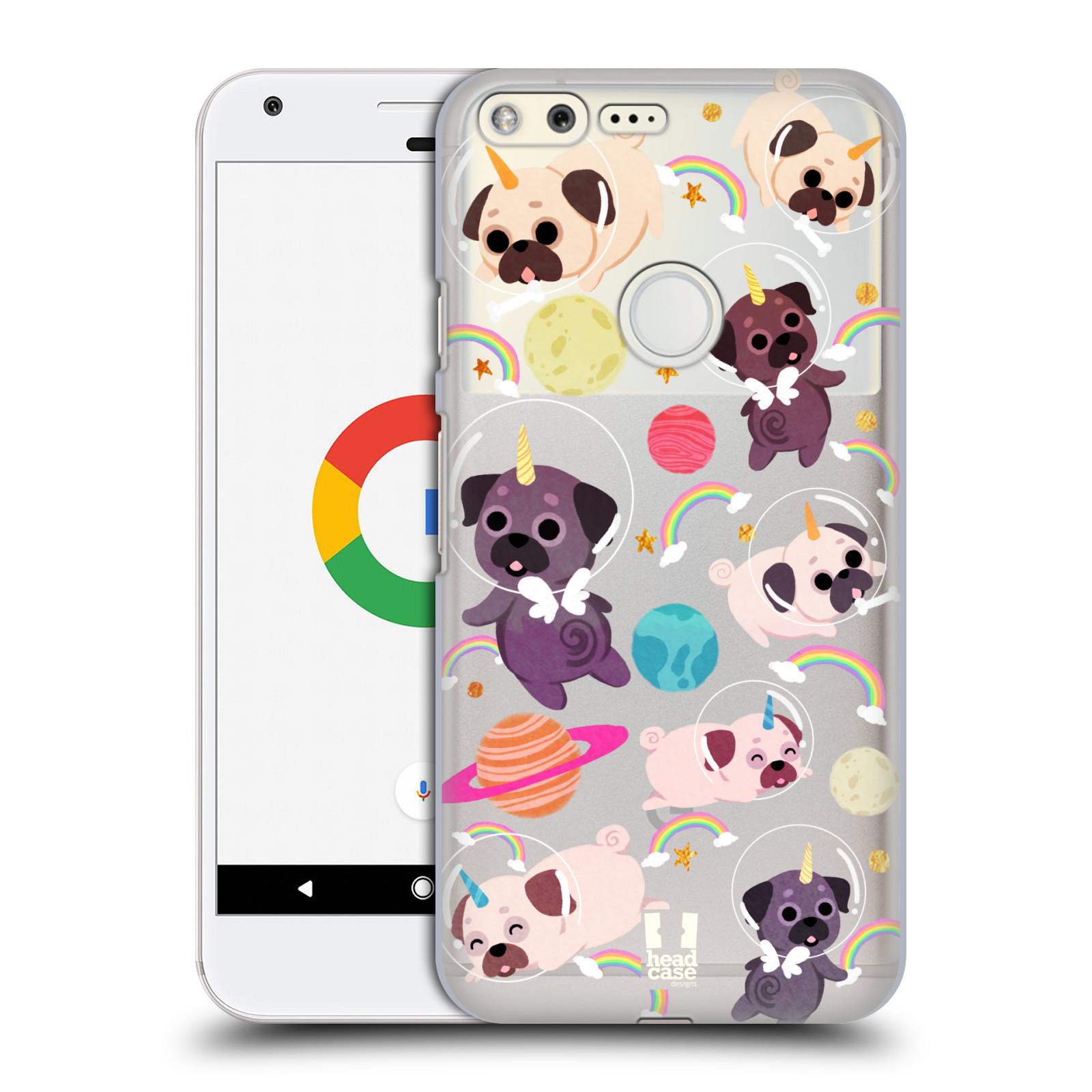 CASE-DESIGNS-SPAZIO-HEAD-Unicorni-HARD-BACK-CASE-per-telefoni-GOOGLE