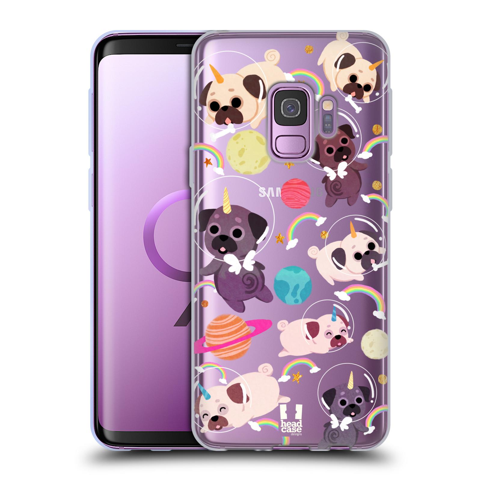 Funda-HEAD-CASE-DESIGNS-CON-Gel-Suave-Unicornios-espacio-para-telefonos-Samsung-1