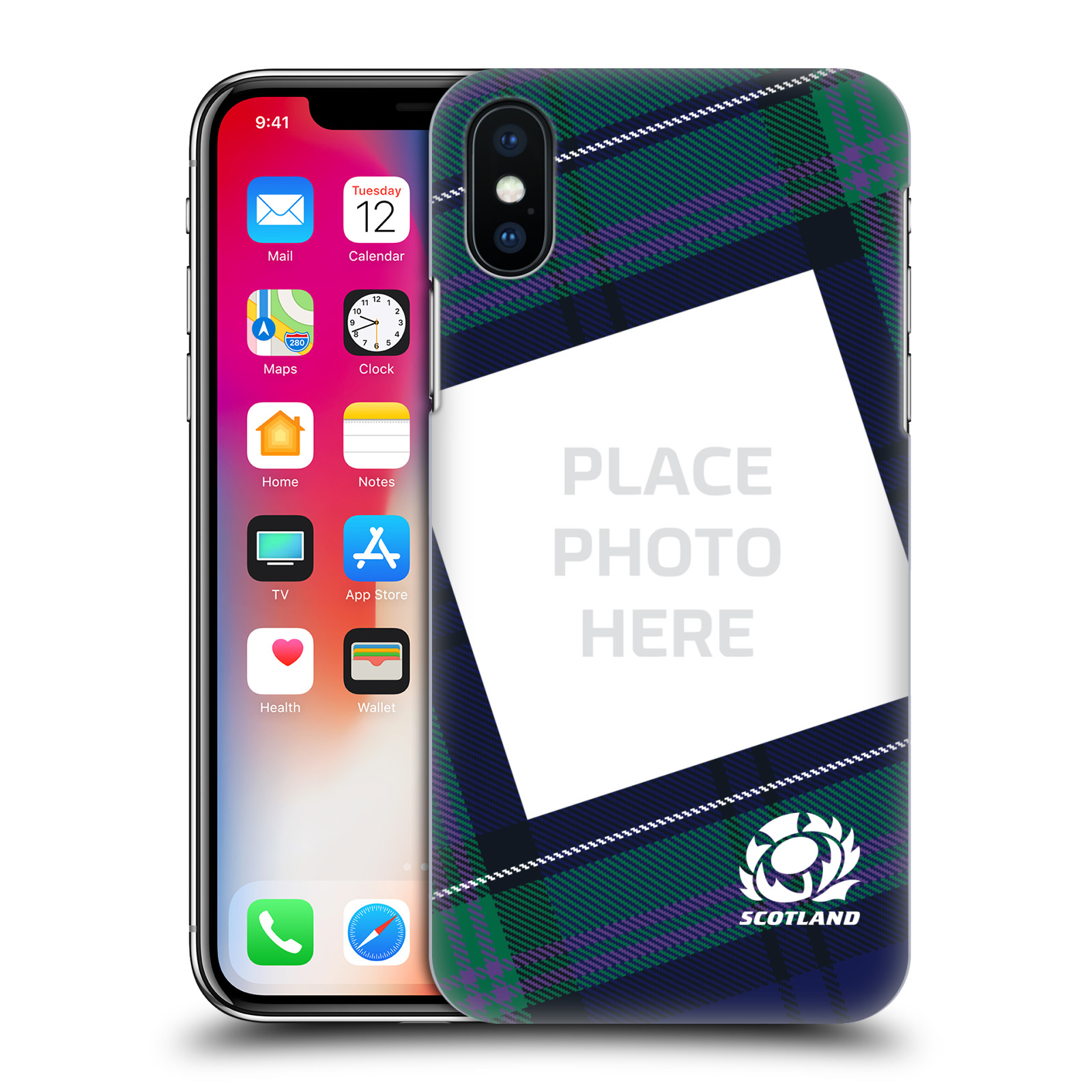 CUSTOM-PERSONALISED-SCOTLAND-RUGBY-2018-19-BACK-CASE-FOR-APPLE-iPHONE-PHONES