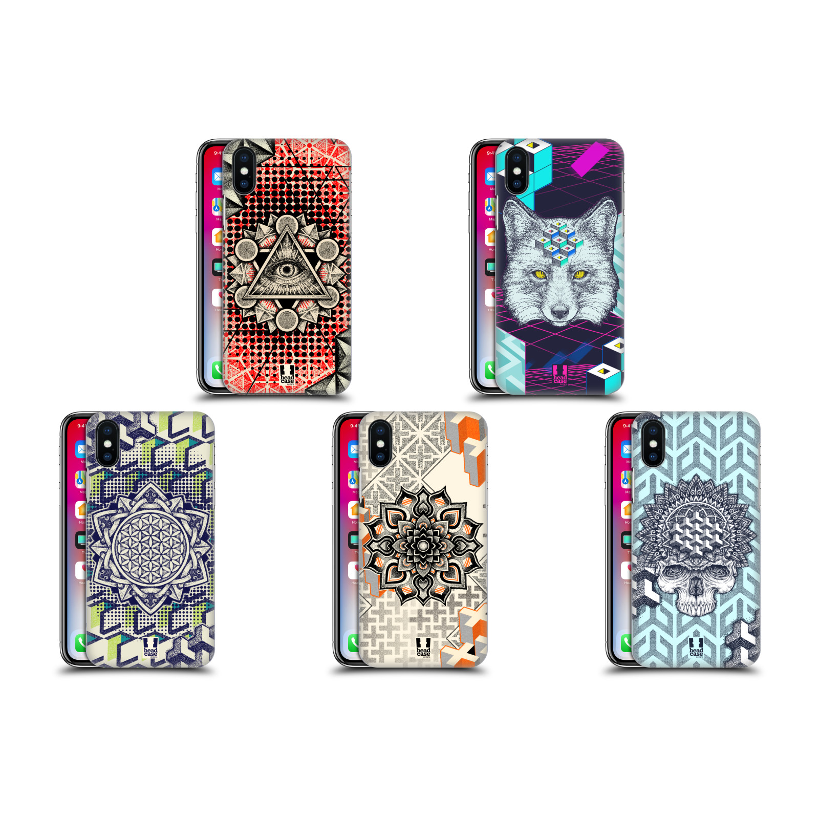 Ultra-Protective Stippled-Design Case