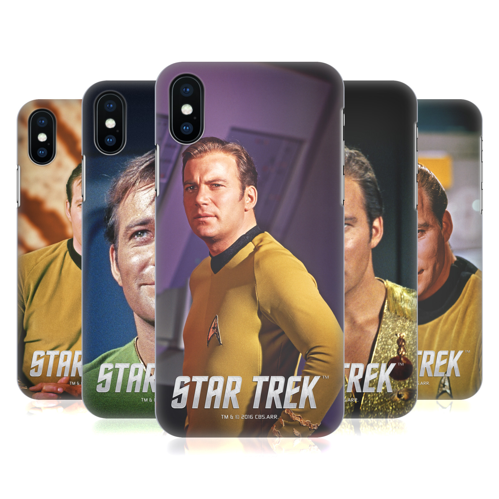 Star Trek Embossed Captain Kirk