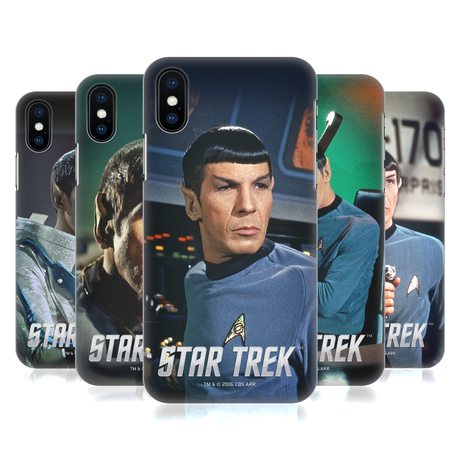 Star Trek Embossed Spock