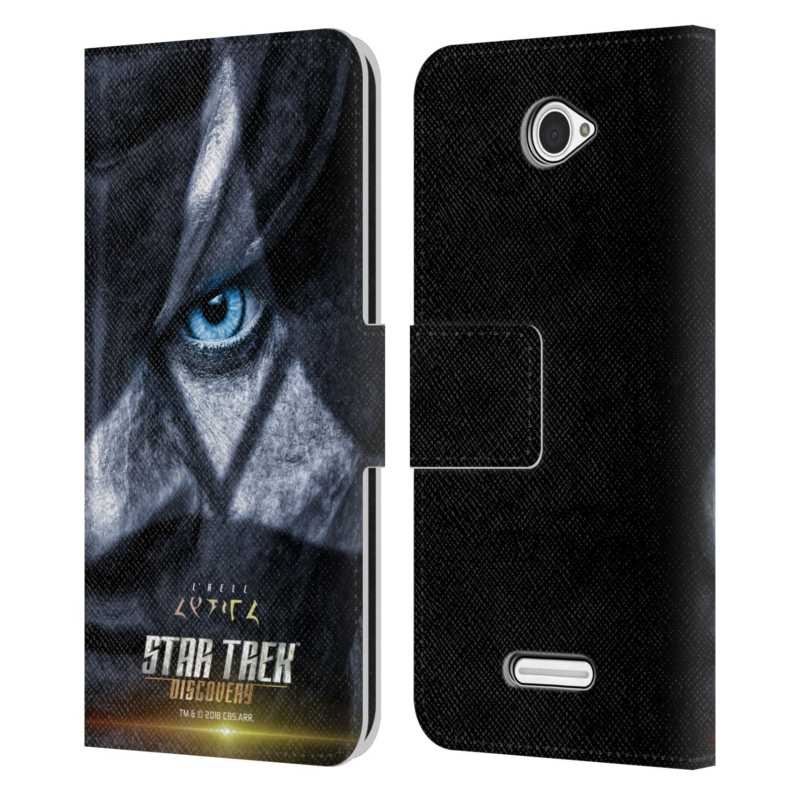 STAR-TREK-DISCOVERY-CHARACTER-POSTERS-LEATHER-BOOK-WALLET-CASE-FOR-SONY-PHONES-2