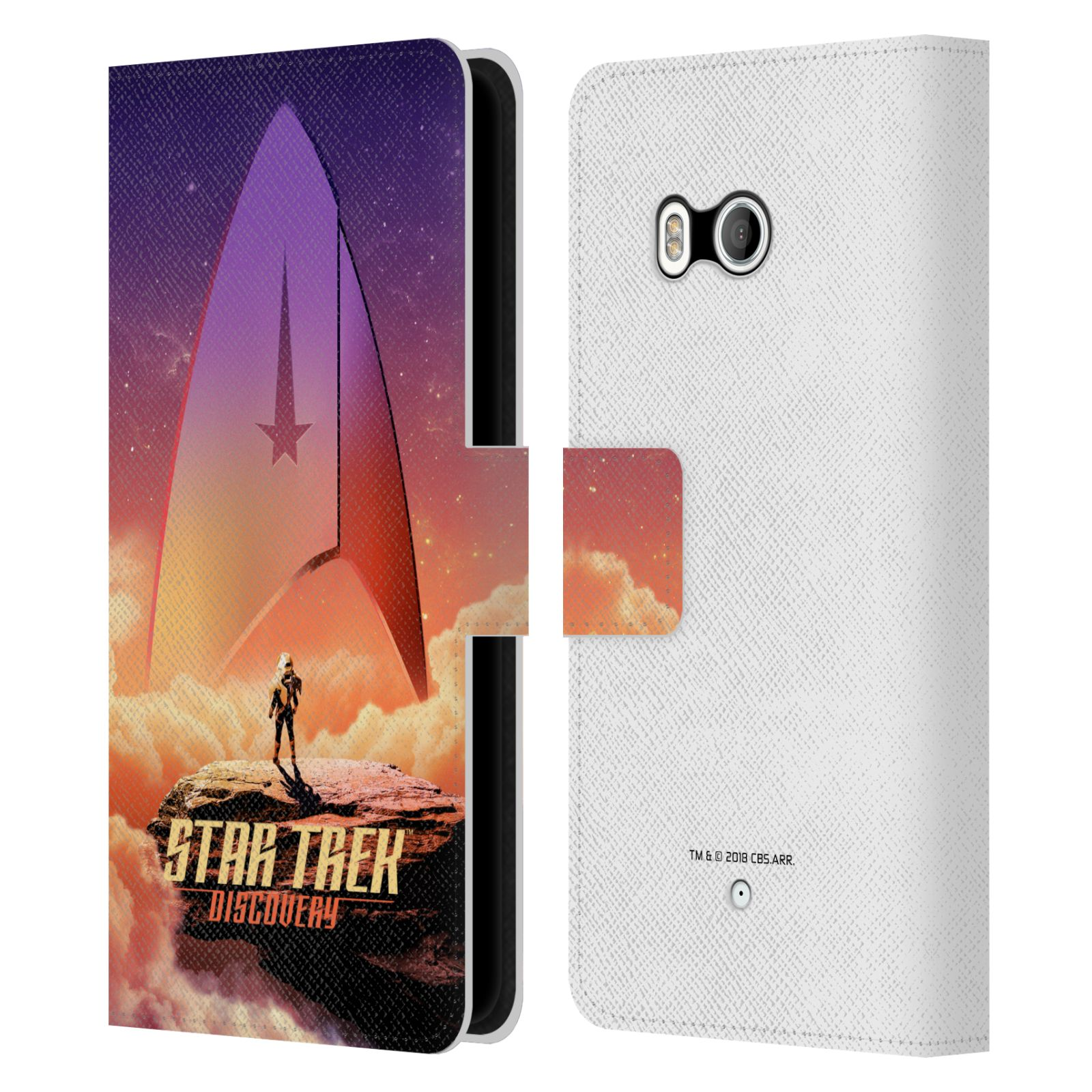 OFFICIAL-STAR-TREK-DISCOVERY-POSTERS-LEATHER-BOOK-WALLET-CASE-FOR-HTC-PHONES-1