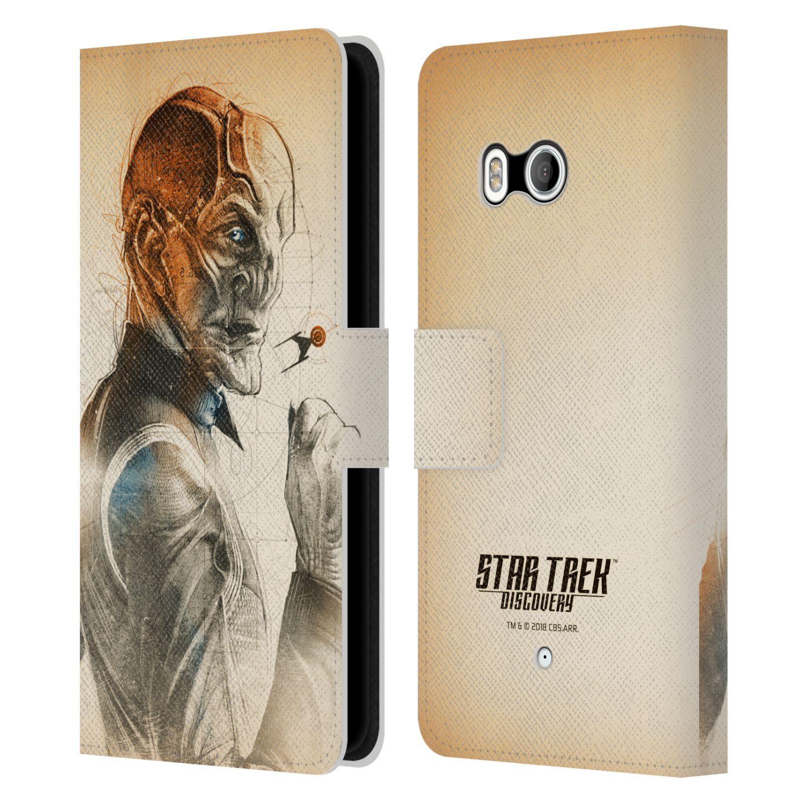 STAR-TREK-DISCOVERY-GRUNGE-PERSONNAGES-ETUI-COQUE-EN-CUIR-POUR-HTC-TELEPHONES-1
