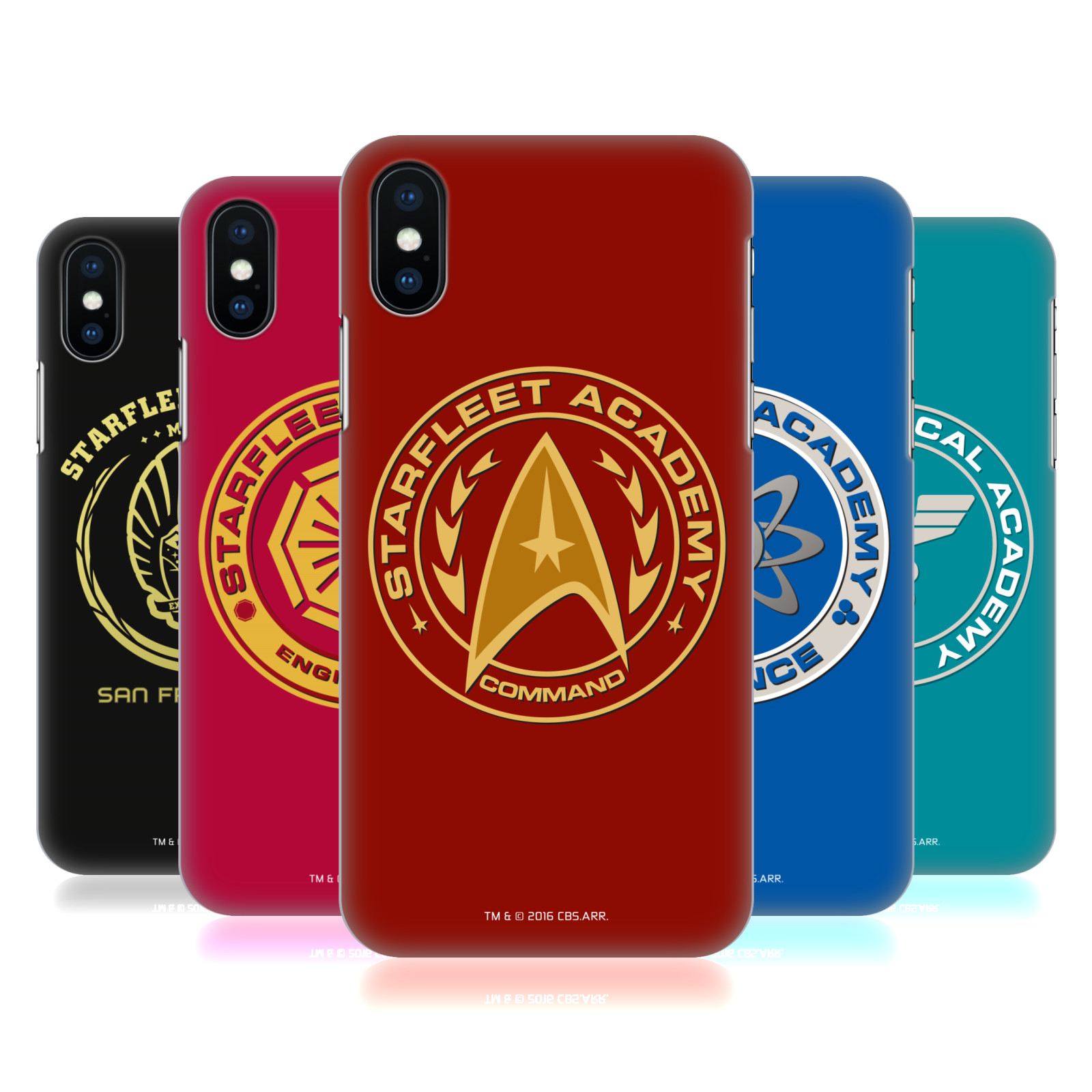 Star Trek Starfleet Academy Logos