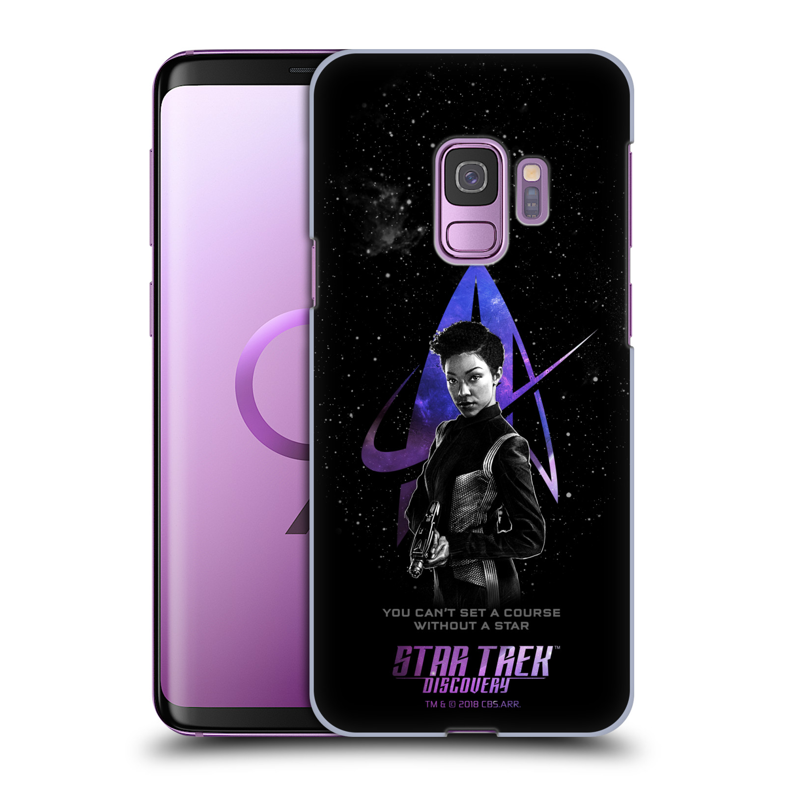 STAR-TREK-DISCOVERY-DISCOVERY-Nebula-caracteres-Coque-Arriere-Pour-SAMSUNG-Phone-1
