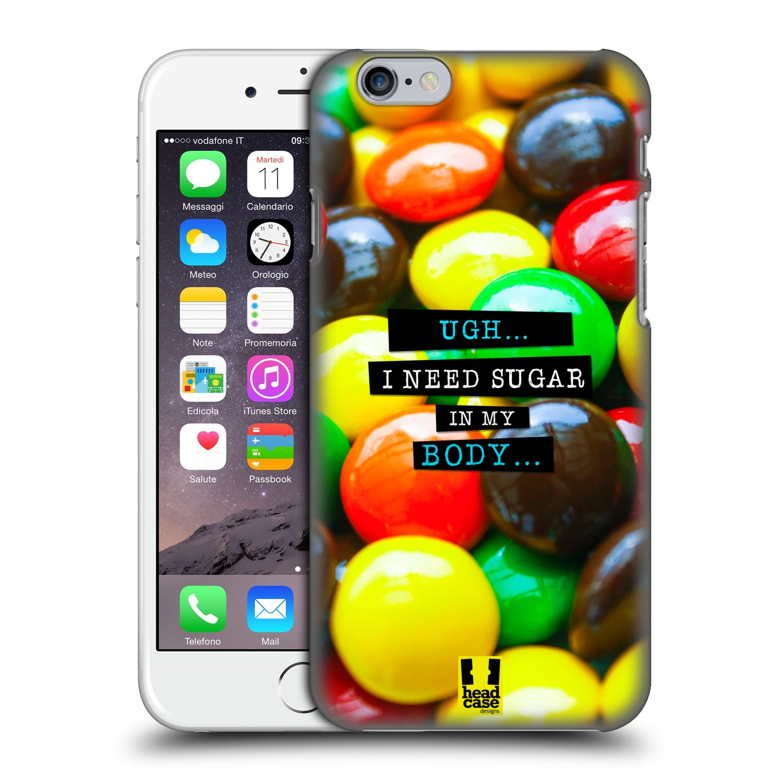 HEAD-CASE-DESIGNS-DOLCI-PENSIERI-COVER-RETRO-RIGIDA-PER-APPLE-iPHONE-TELEFONI