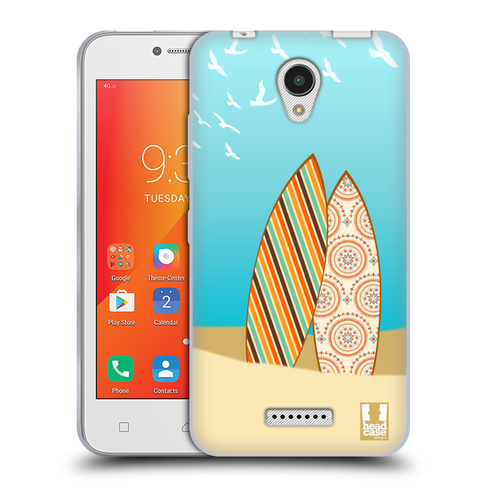 HEAD-CASE-DESIGNS-SURFBOARDS-COVER-MORBIDA-IN-GEL-PER-LENOVO-A-PLUS