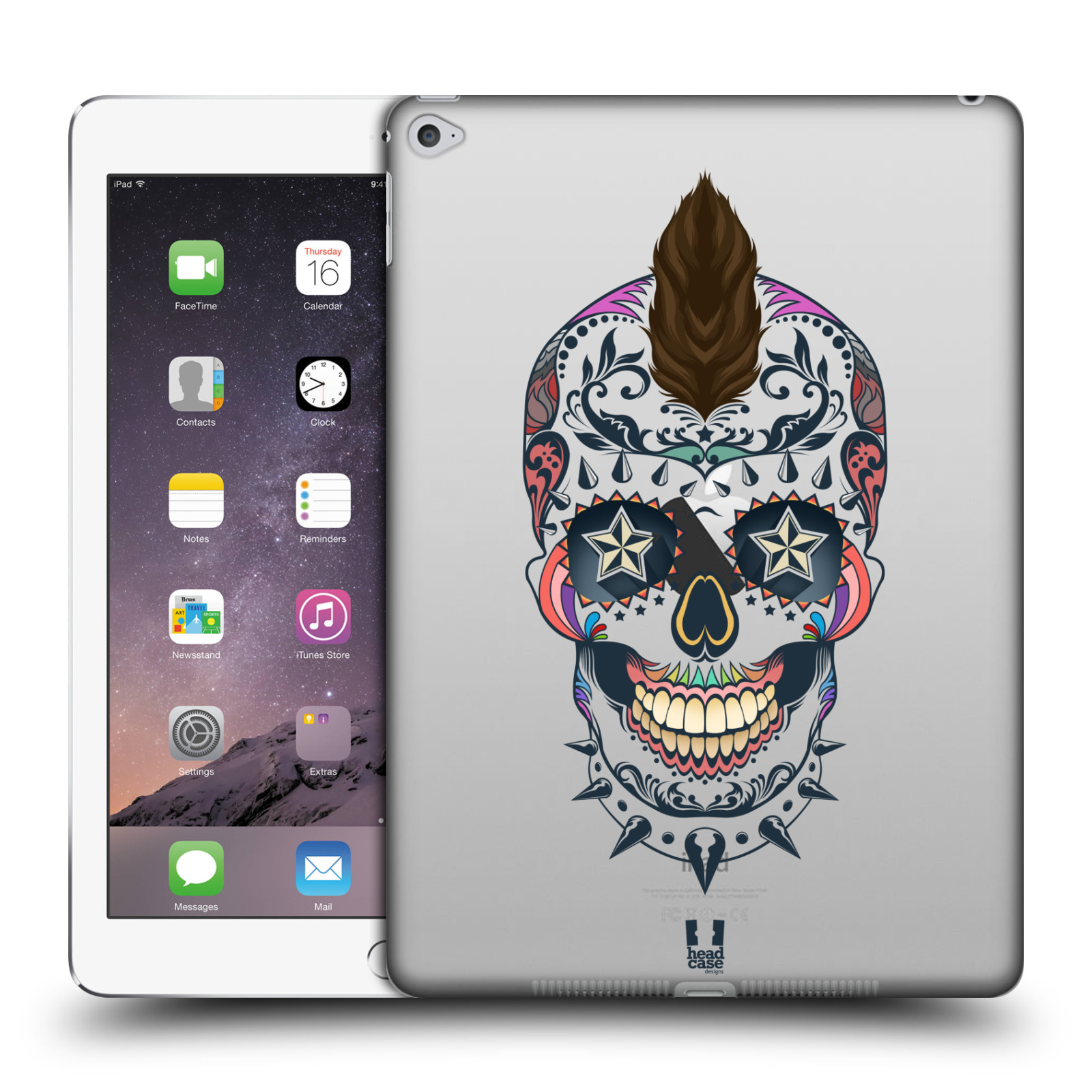 HEAD-CASE-DESIGNS-SWEET-SKULLS-COLLECTION-HARD-BACK-CASE-FOR-APPLE-iPAD