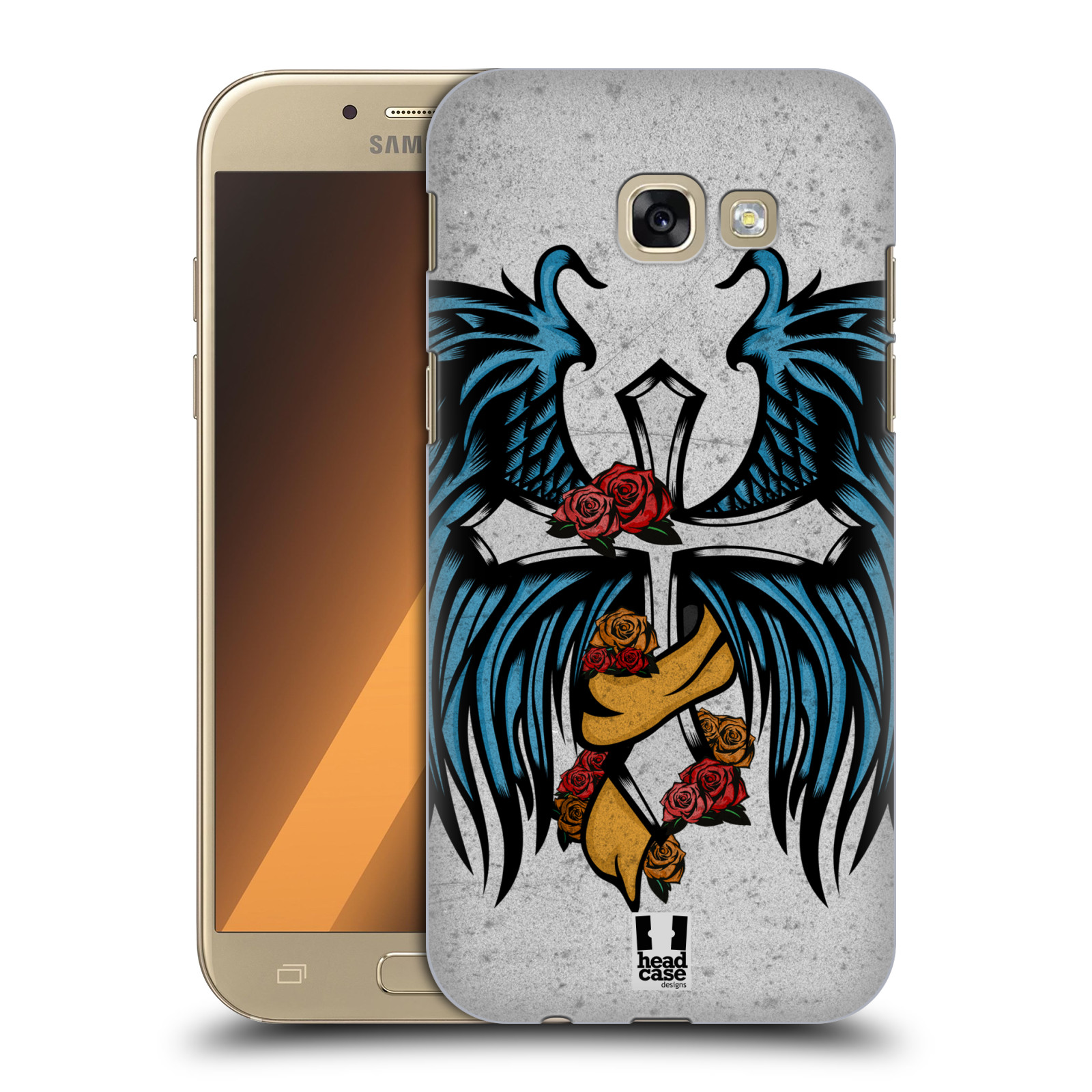 HEAD-CASE-DESIGNS-TATTOO-WINGS-HARD-BACK-CASE-FOR-SAMSUNG-GALAXY-A5-2017