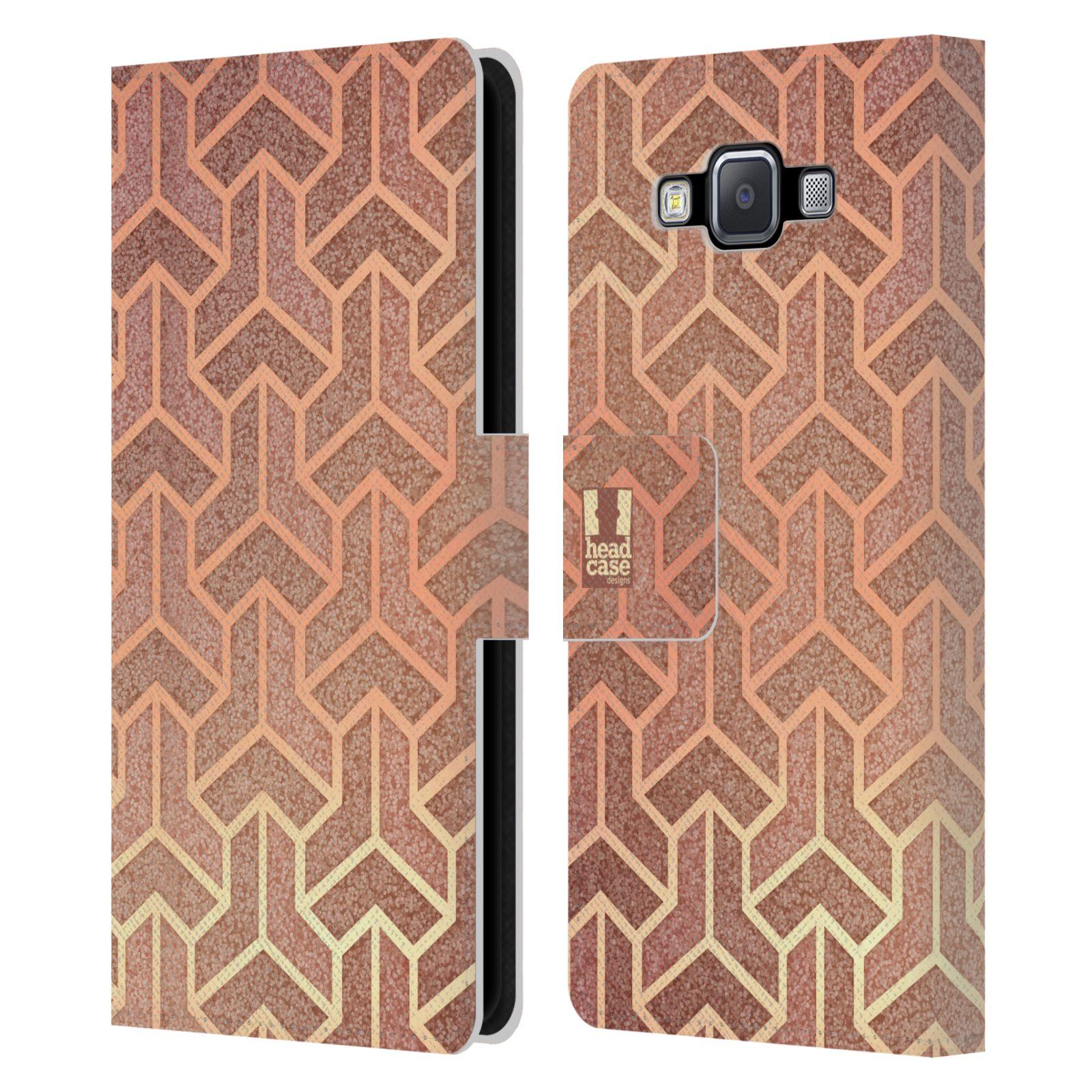 head case designs texture art deco muster brieftasche h lle f r samsung handys 2 ebay. Black Bedroom Furniture Sets. Home Design Ideas