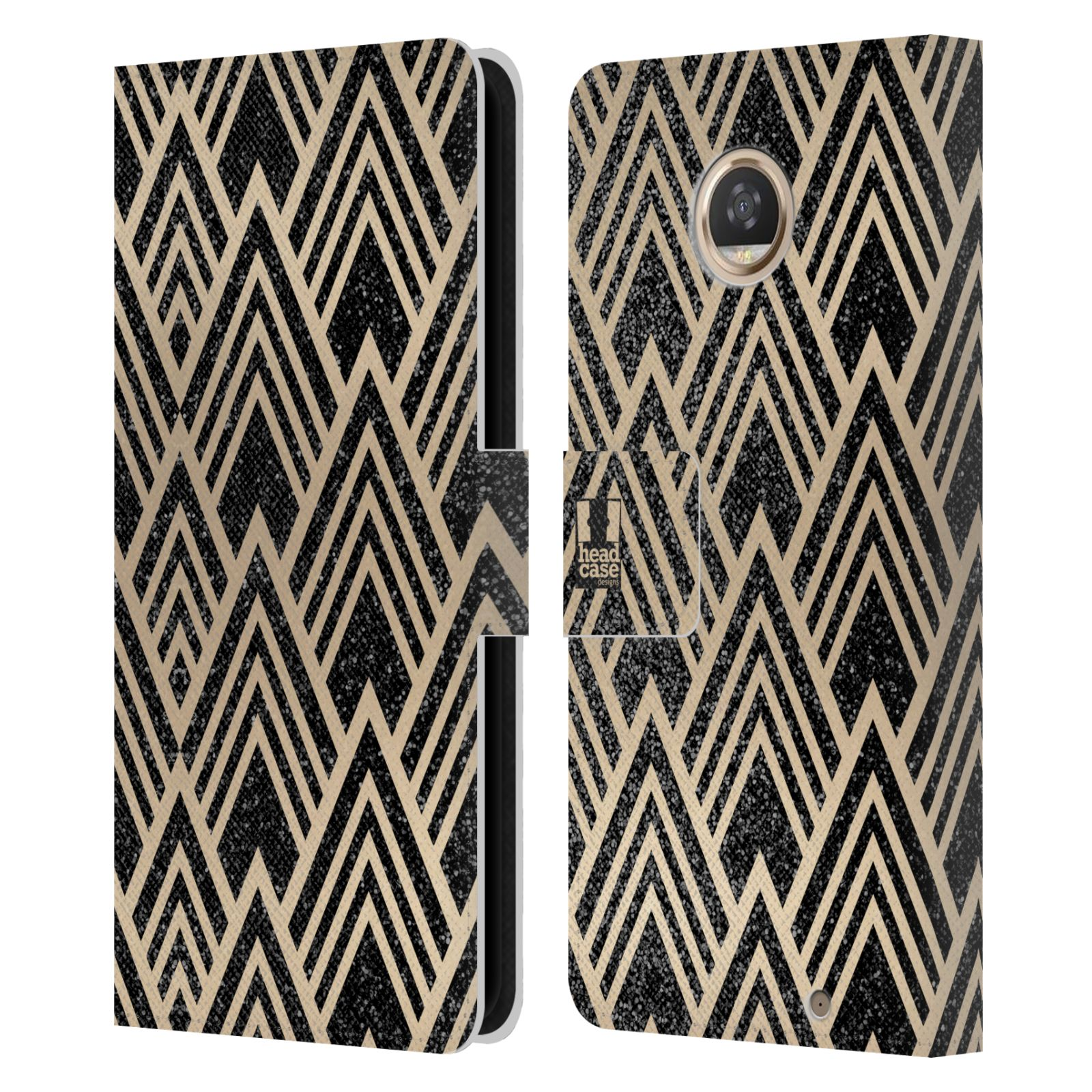 Funda-HEAD-CASE-Art-Deco-Con-Textura-Patrones-De-Cuero-Libro-Funda-Para-Telefonos-MOTOROLA