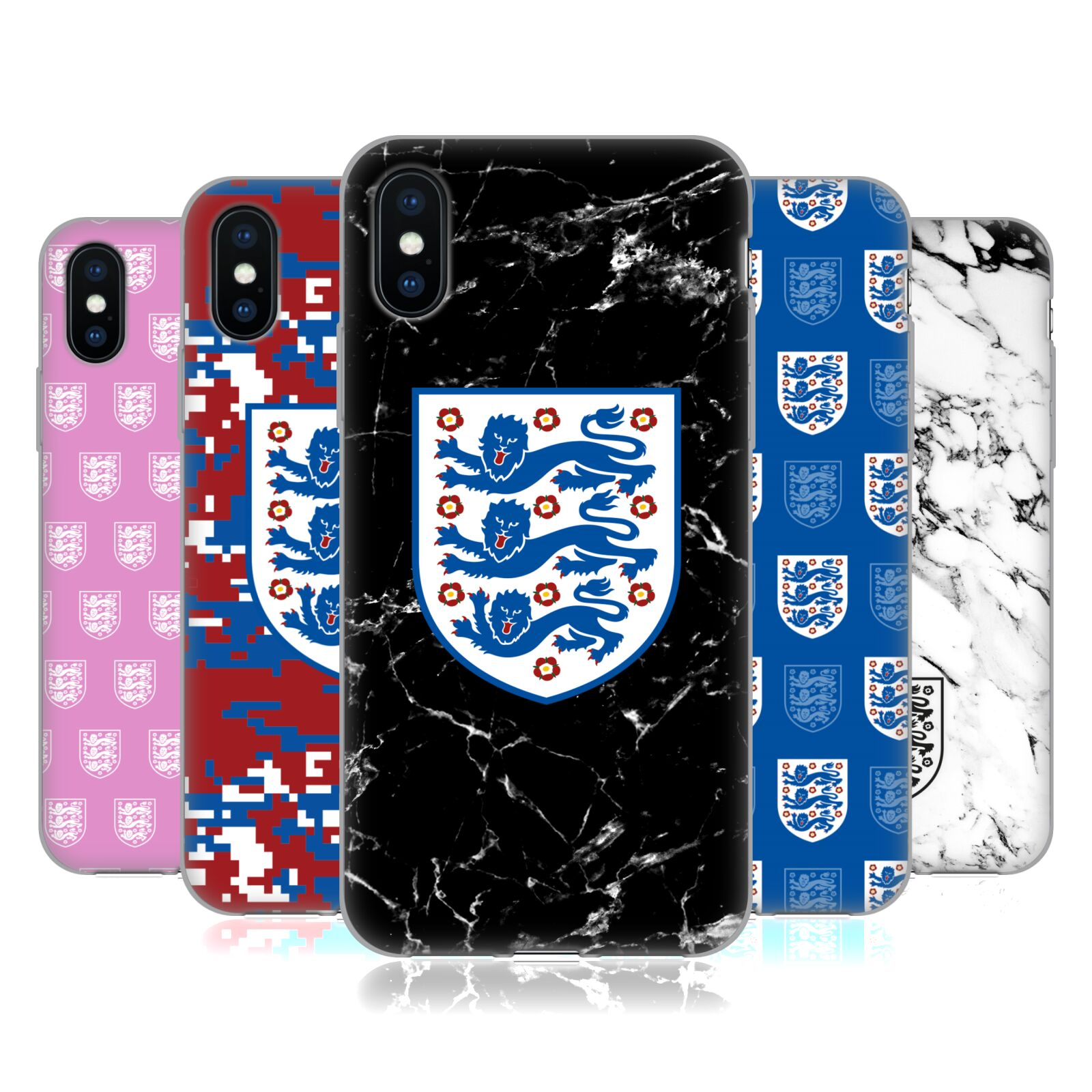 England National Football Team 2018 Crest And Patterns