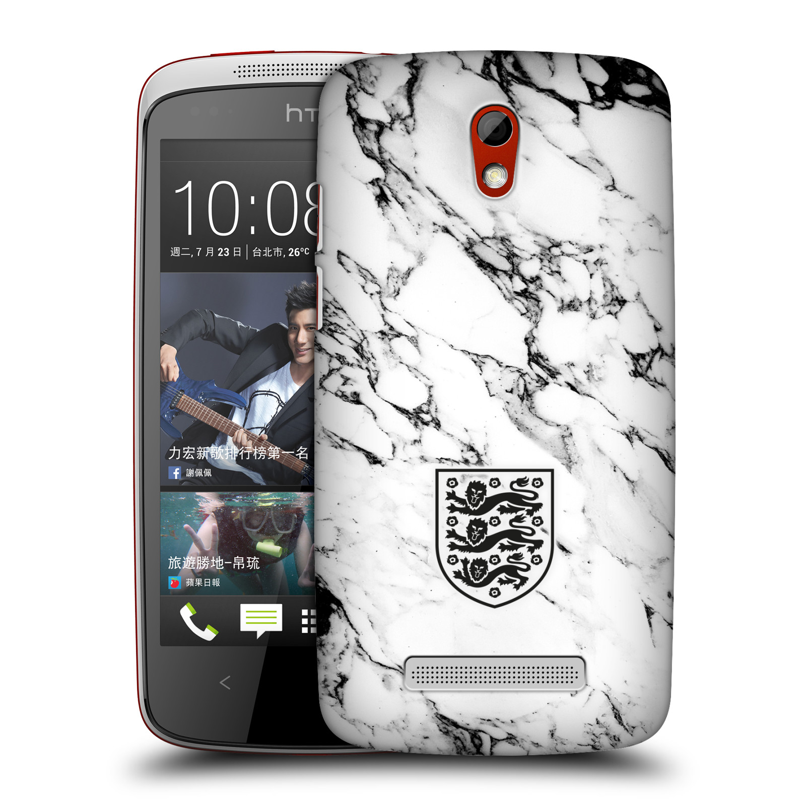 OFFICIAL-THE-FA-2017-18-CREST-AND-PATTERNS-HARD-BACK-CASE-FOR-HTC-PHONES-2