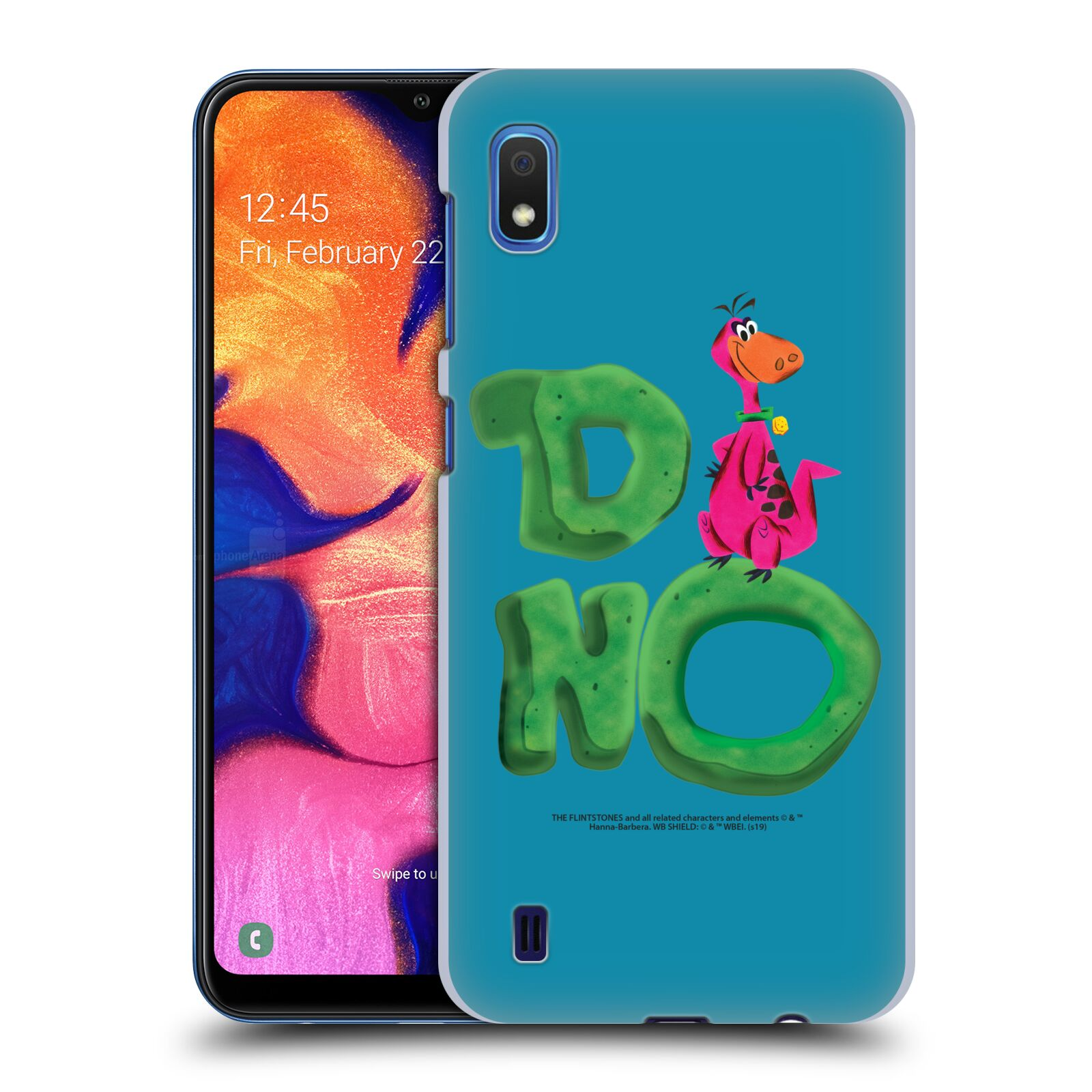 Official The Flintstones Vintage Dino Case for Samsung Galaxy A10 (2019)